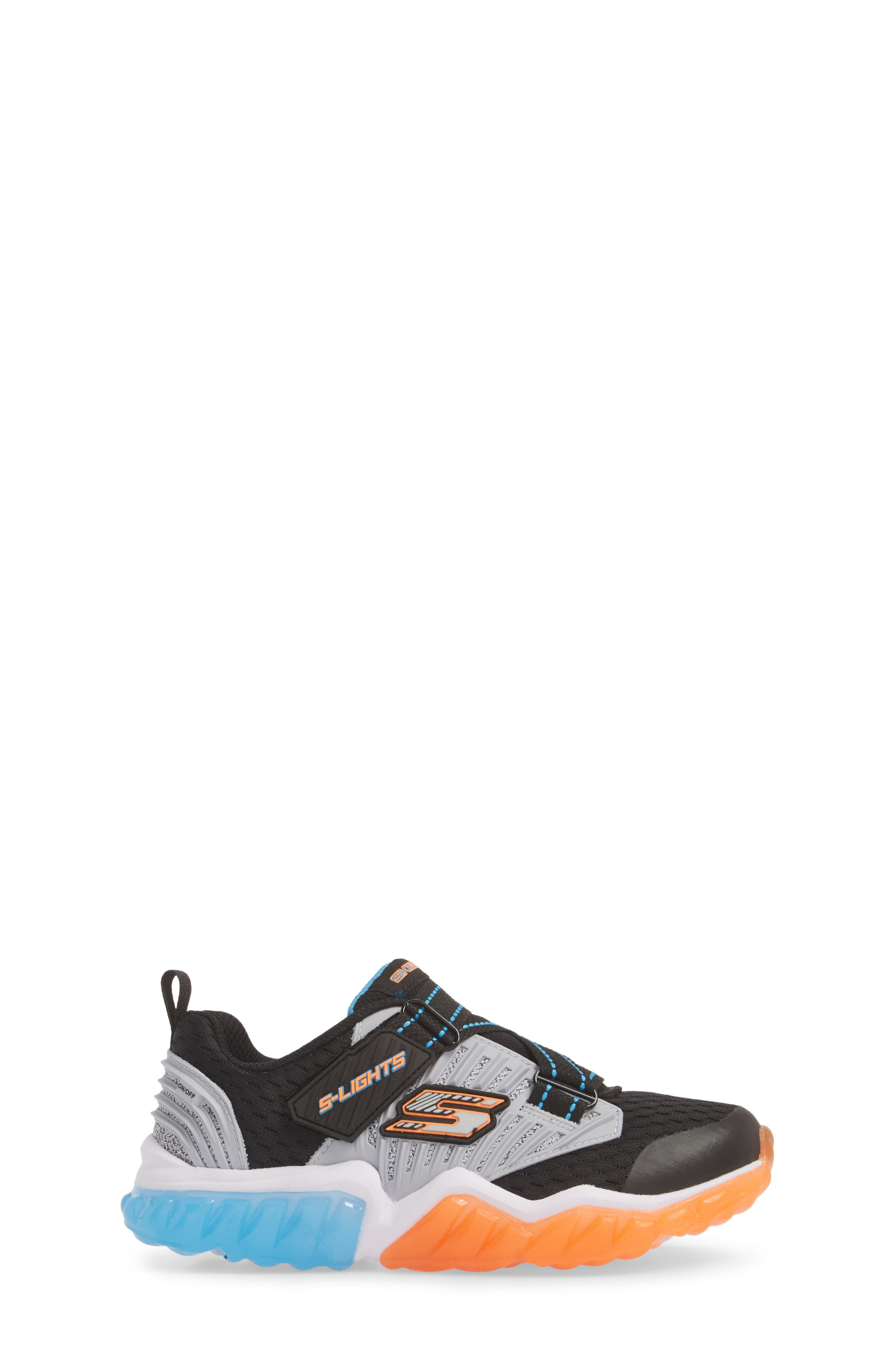 Rapid Flash Light-Up Sneaker,                             Alternate thumbnail 3, color,                             001