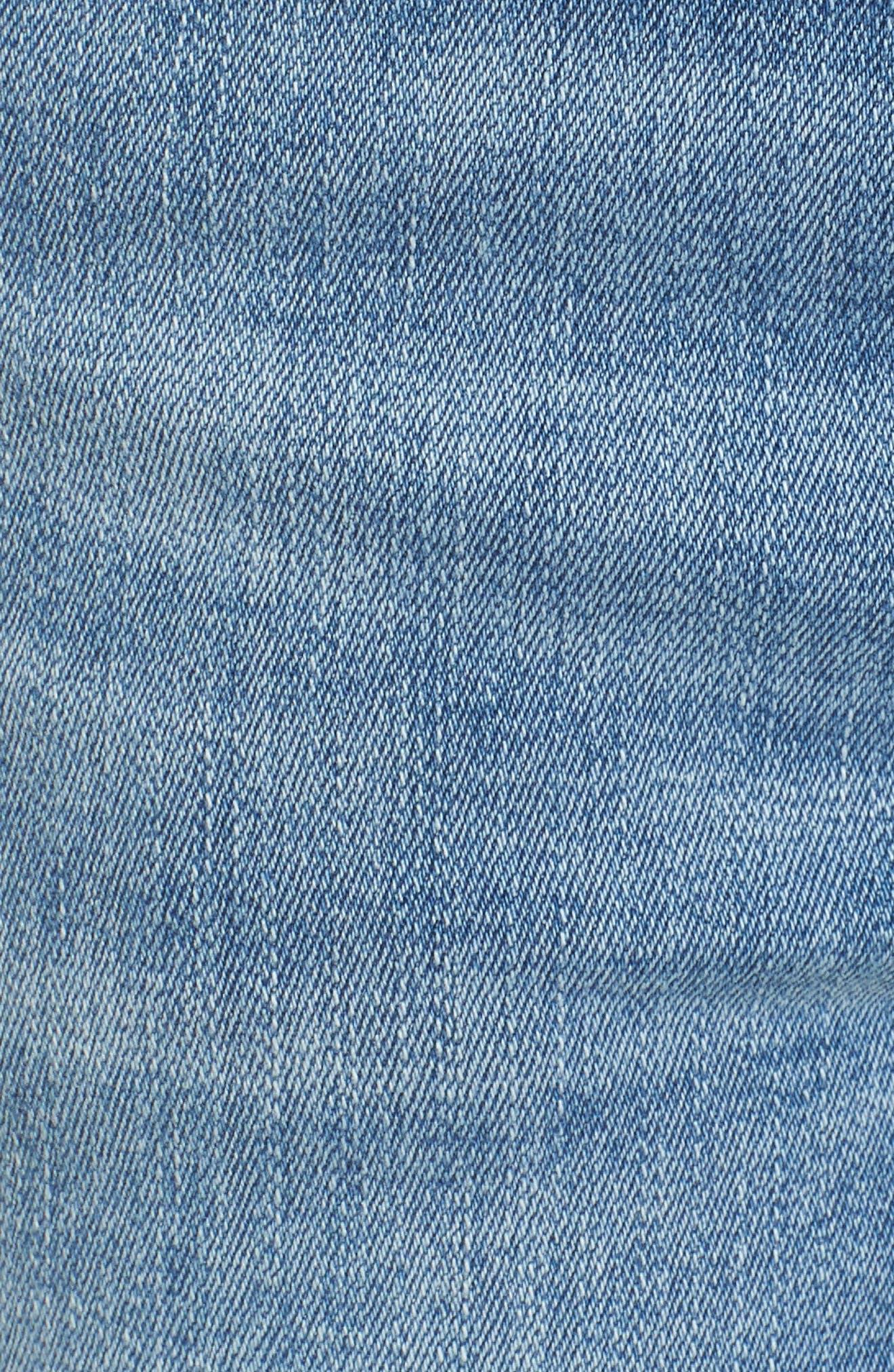 Florence Instasculpt Crop Skinny Jeans,                             Alternate thumbnail 6, color,                             429