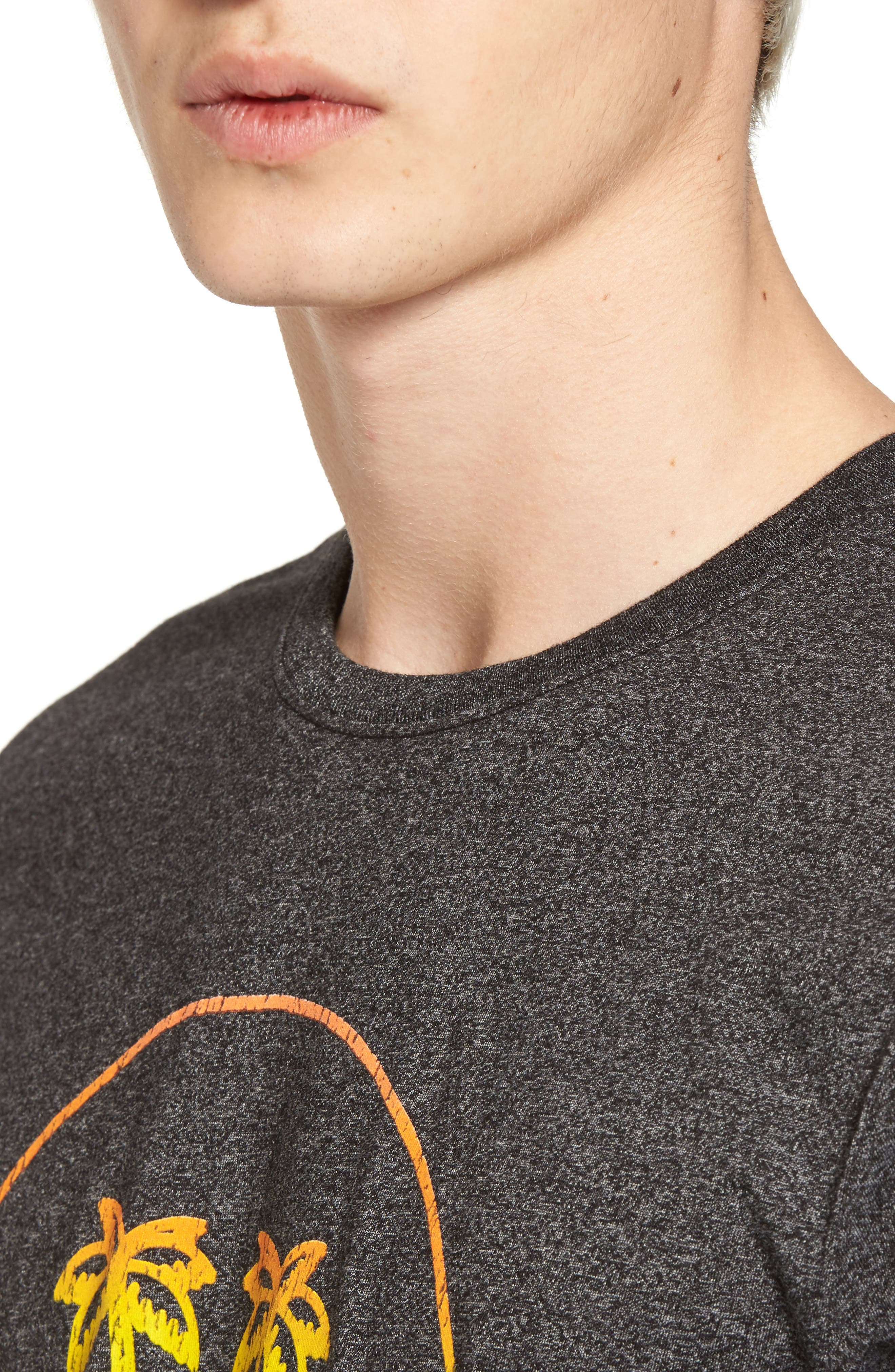 Palm Vision Mock Twist T-Shirt,                             Alternate thumbnail 4, color,