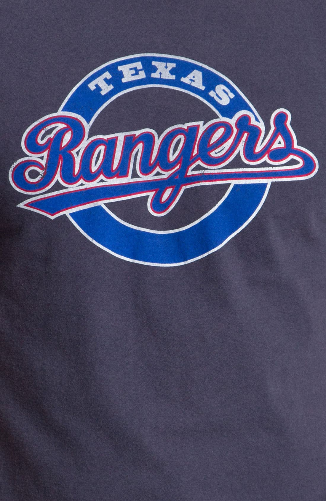 'Texas Rangers' Regular Fit Crewneck T-Shirt,                             Alternate thumbnail 129, color,