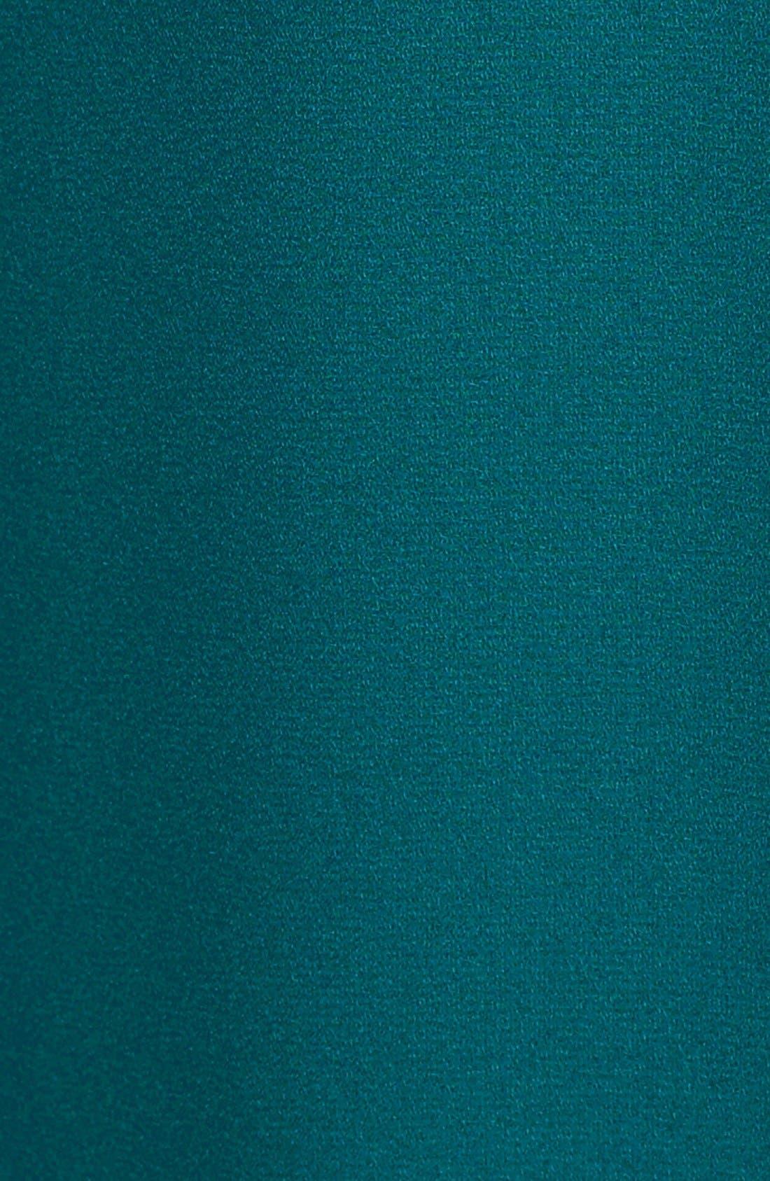 Cuff Sleeve Woven Tee,                             Alternate thumbnail 135, color,