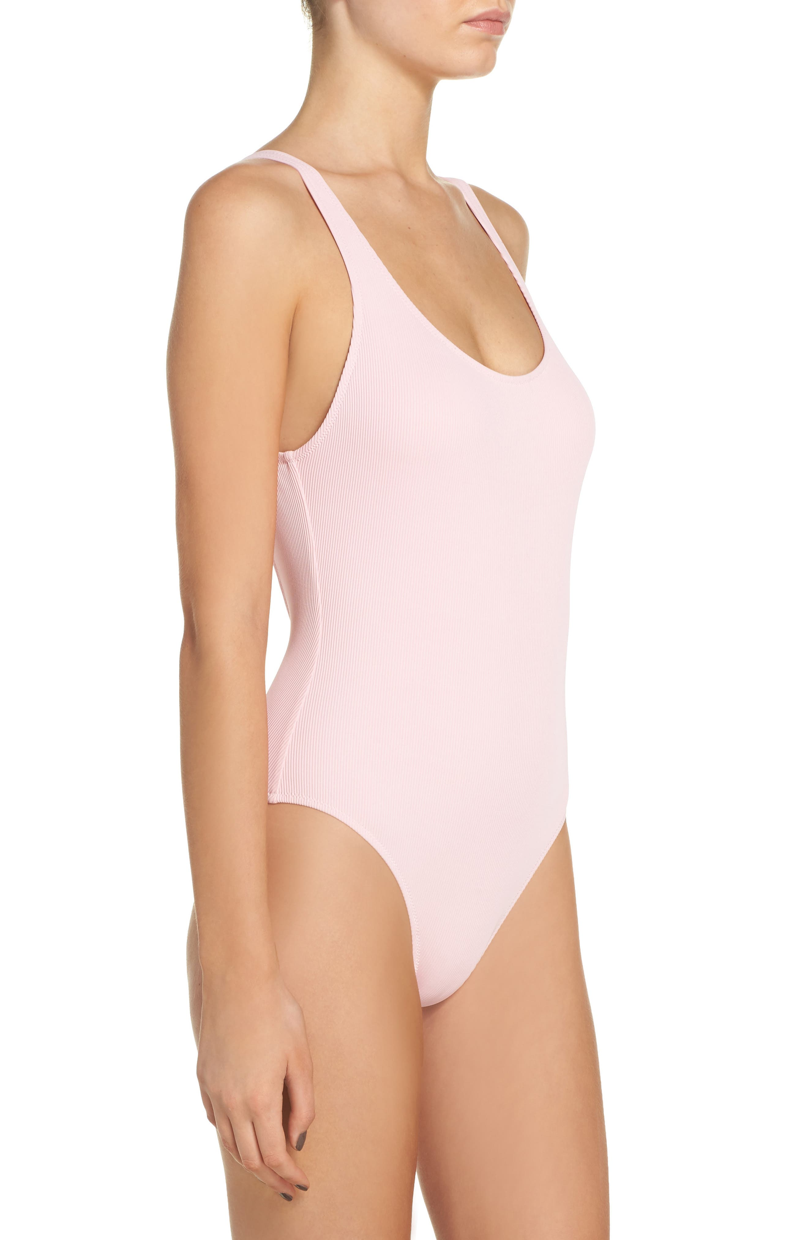Anne Marie One-Piece Swimsuit,                             Alternate thumbnail 3, color,                             650