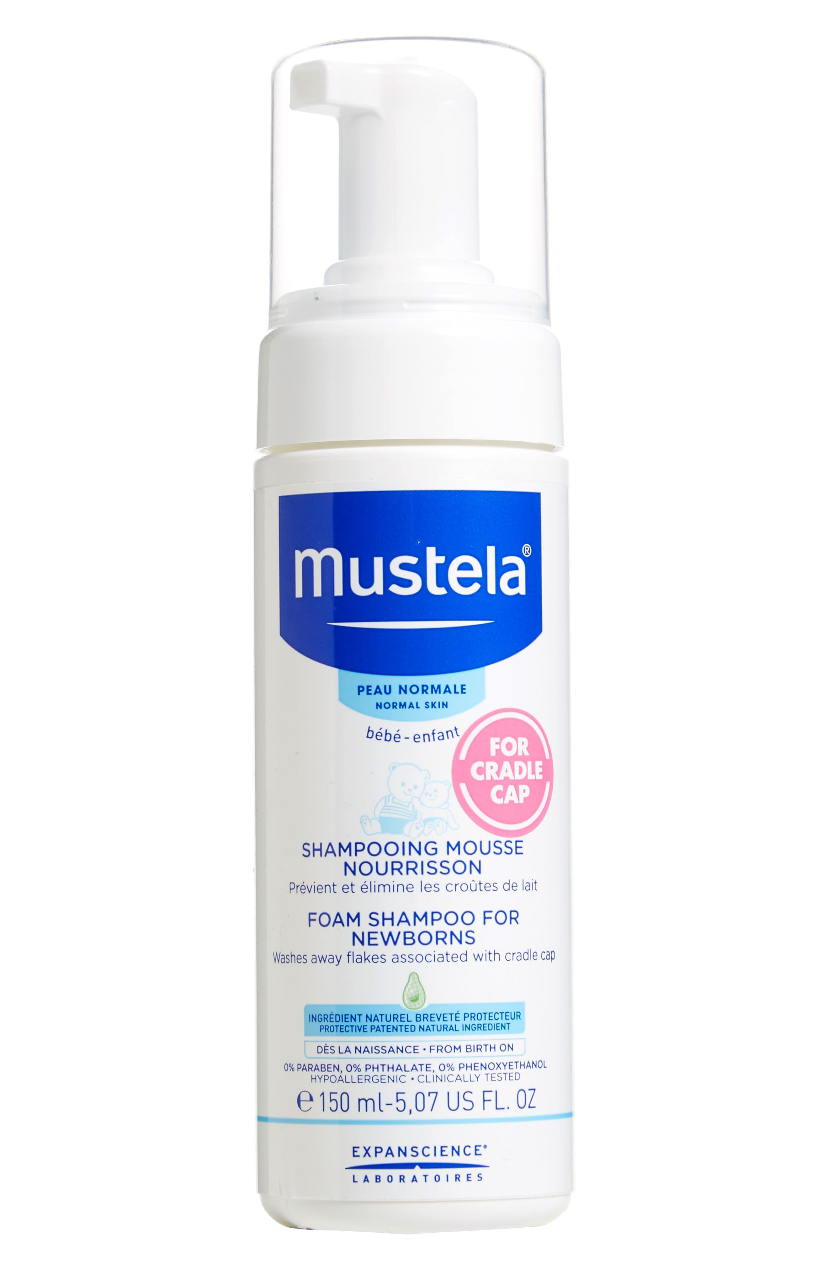 Mustela Foam Shampoo For Newborns Size