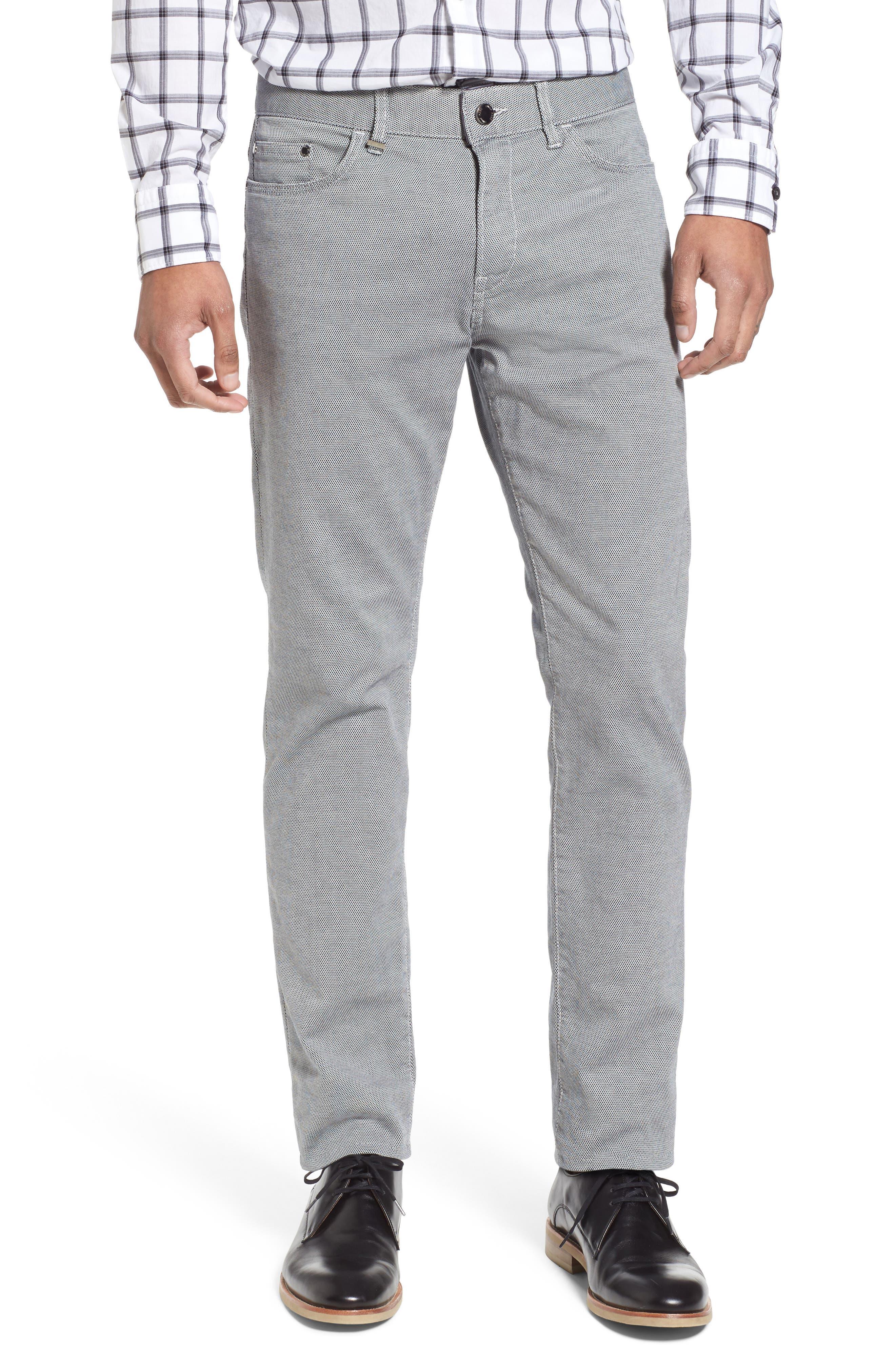 Delaware Slim Fit Structure Jeans,                             Main thumbnail 2, color,