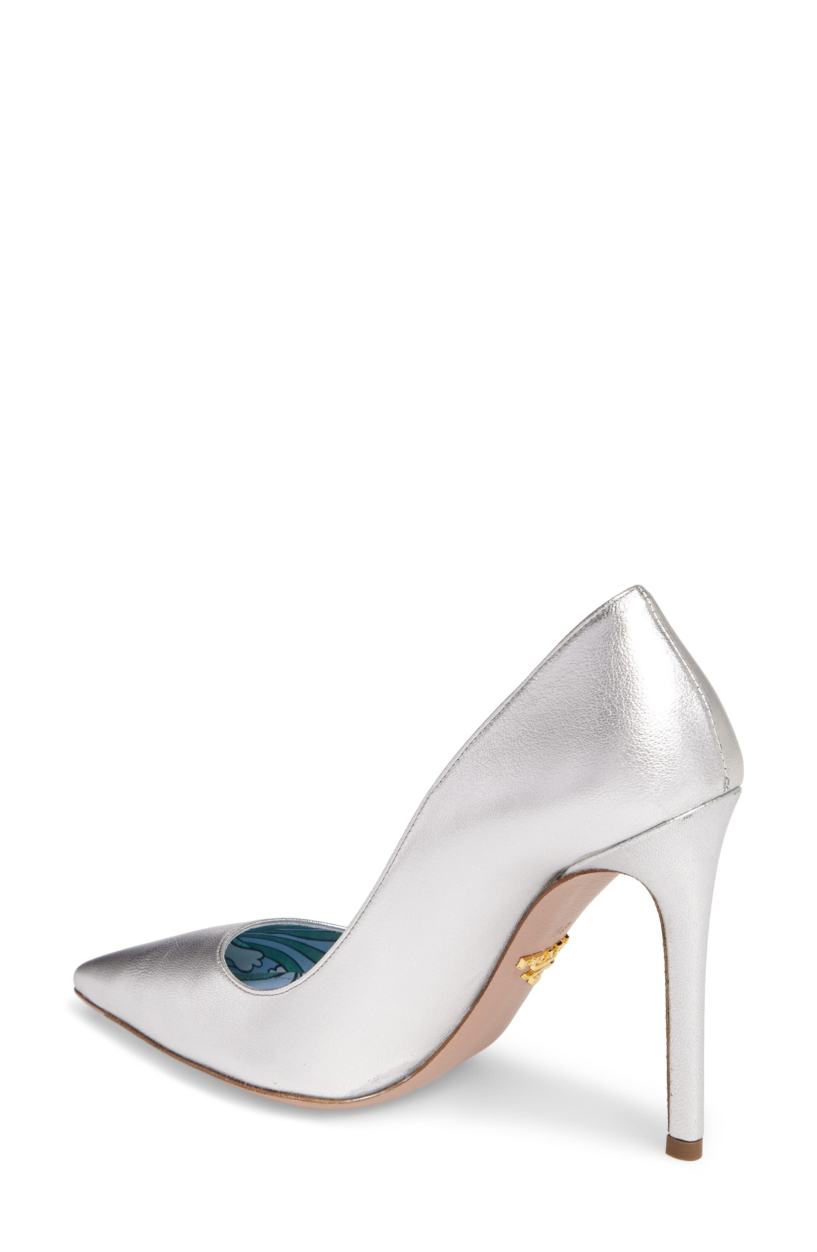 Pointy Toe Pump,                             Alternate thumbnail 3, color,