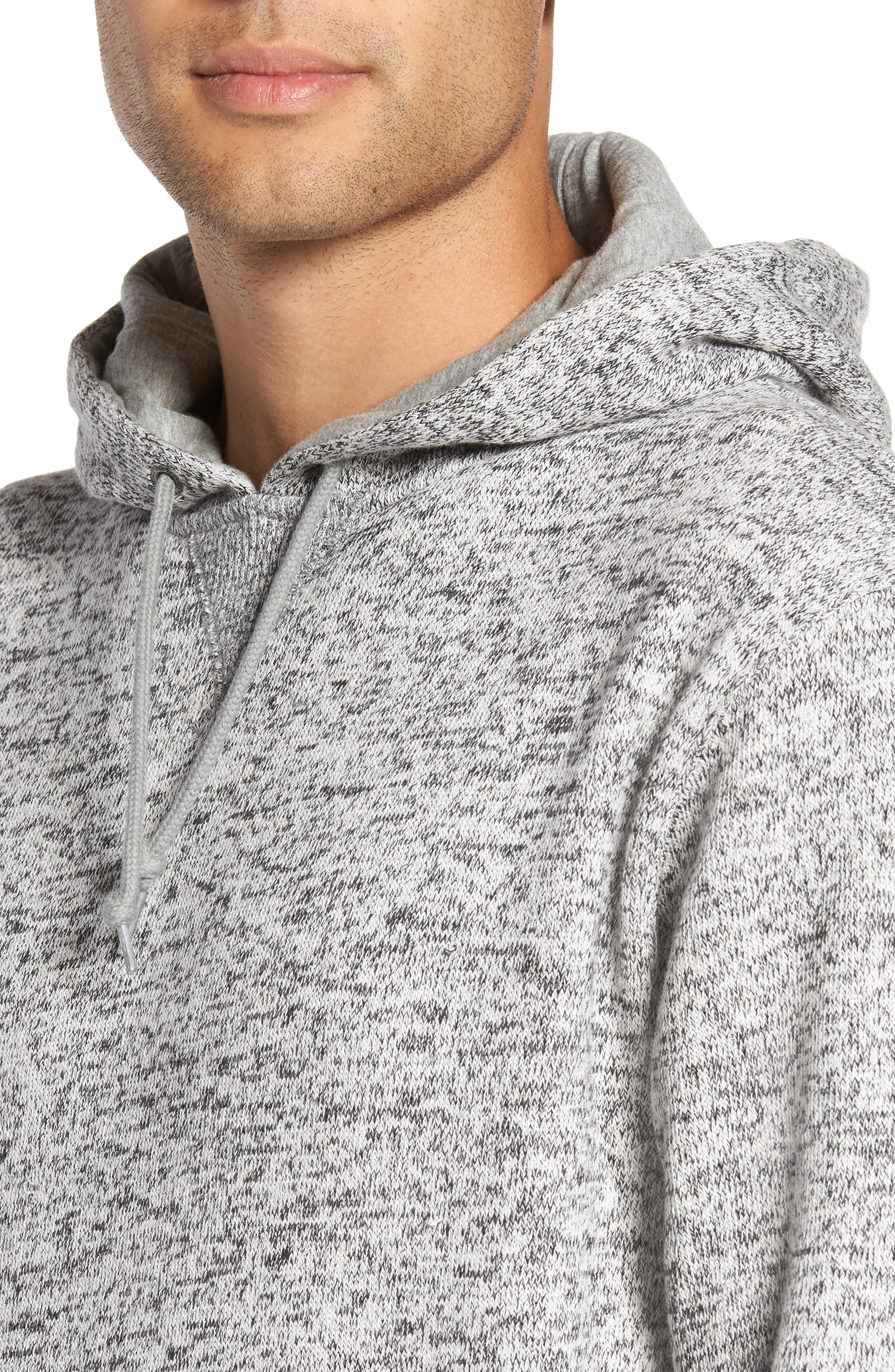 Brookstone Geo Print Hoodie,                             Alternate thumbnail 4, color,                             020