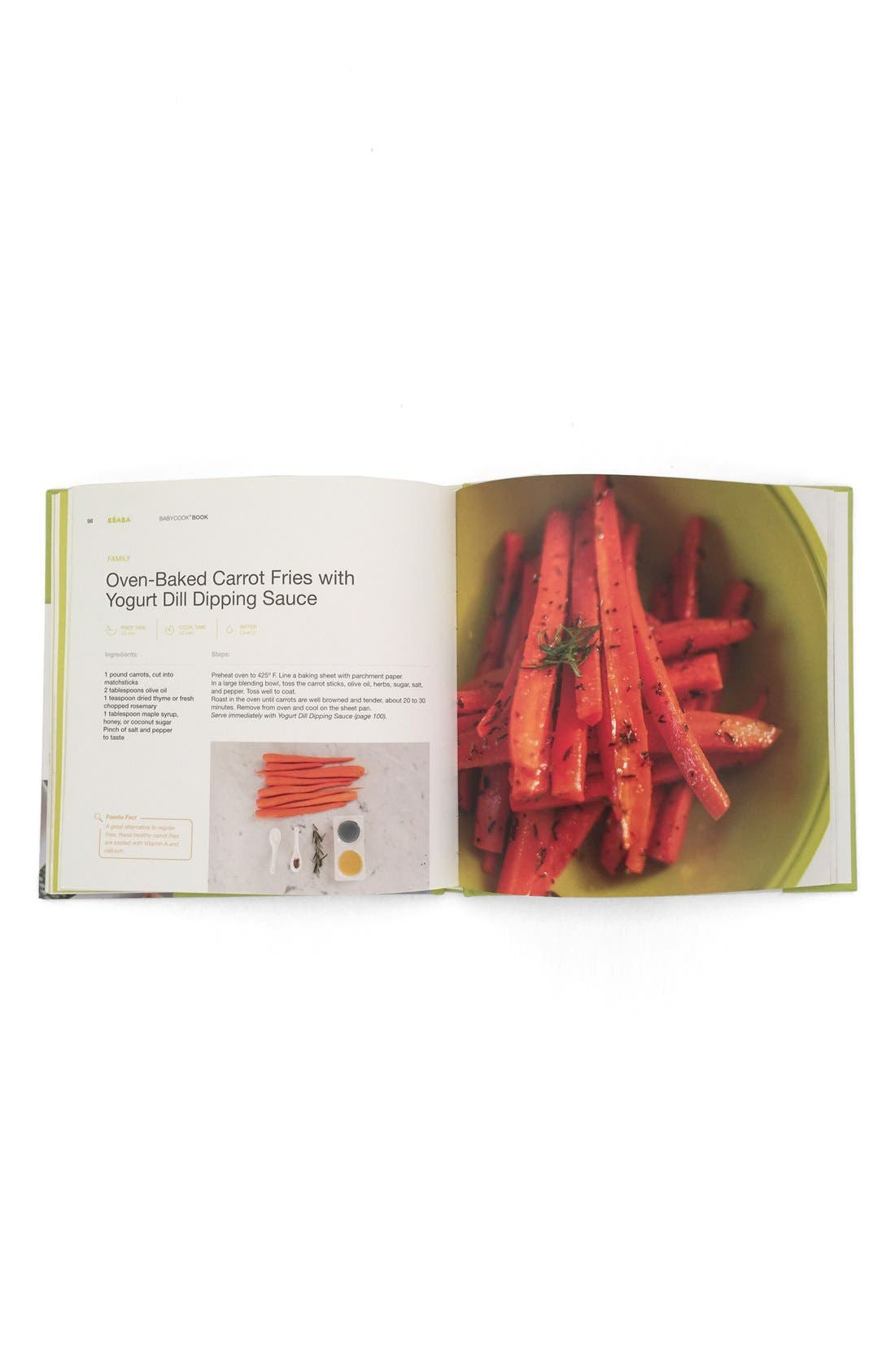 'Babycook<sup>®</sup> Book: Recipes For a Healthy Eater - New Edition' Recipe Book,                             Alternate thumbnail 3, color,                             WHITE