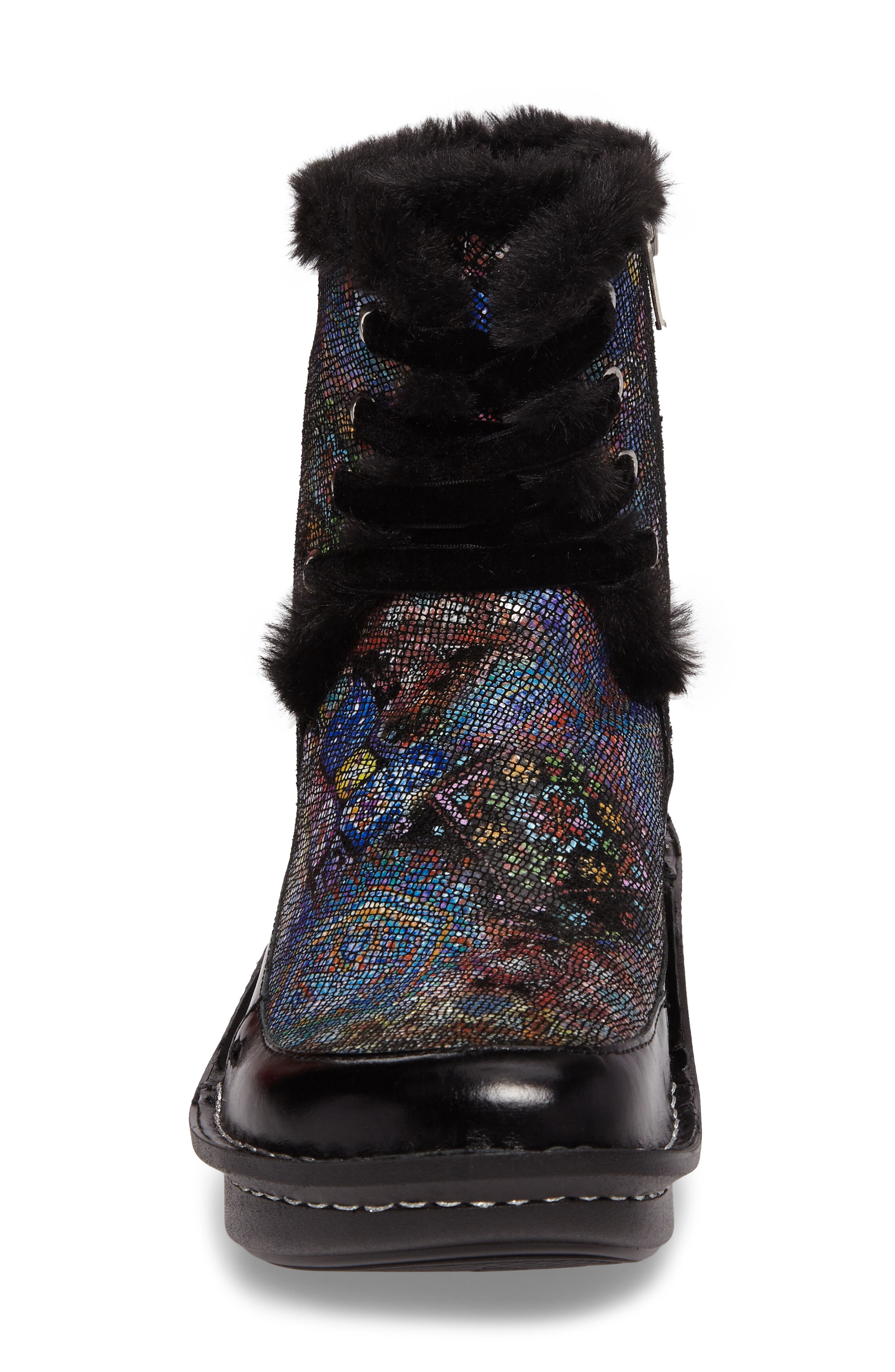 Twisp Lace-Up Boot with Faux Fur Lining,                             Alternate thumbnail 12, color,