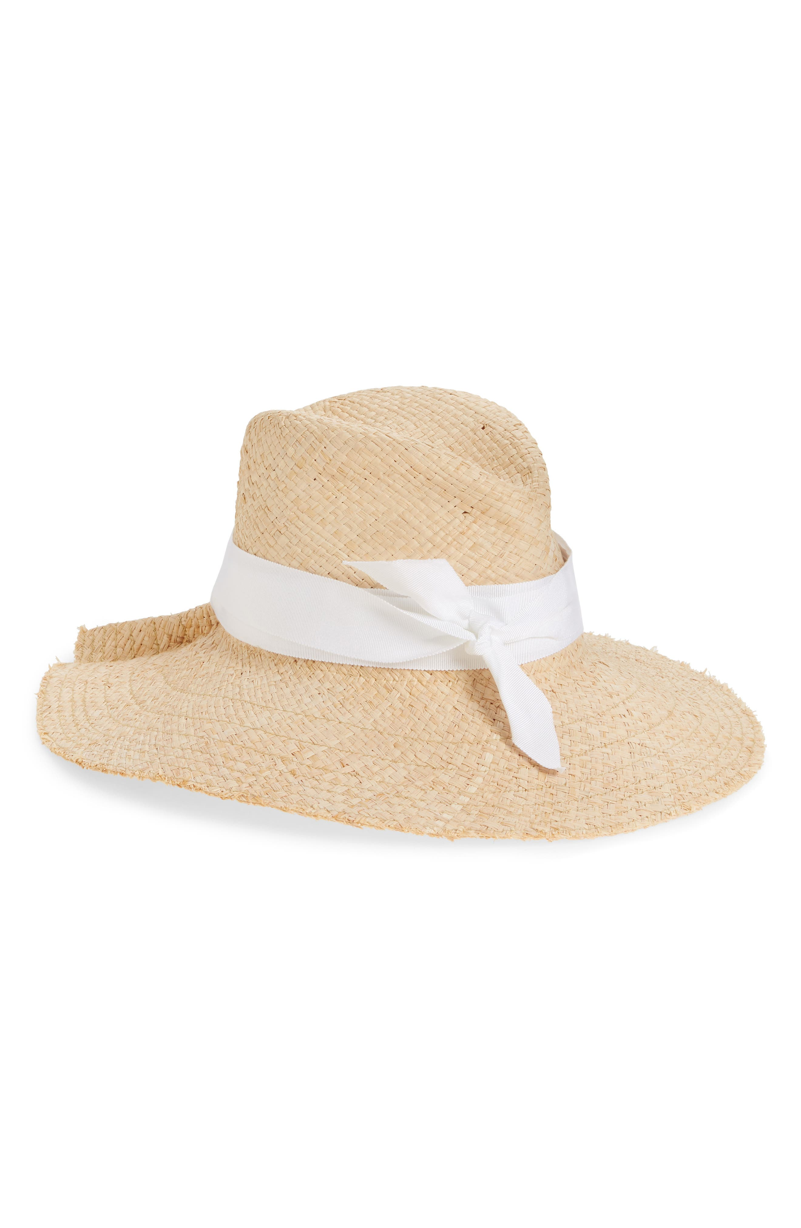 First Aid Straw Hat,                             Main thumbnail 1, color,                             100