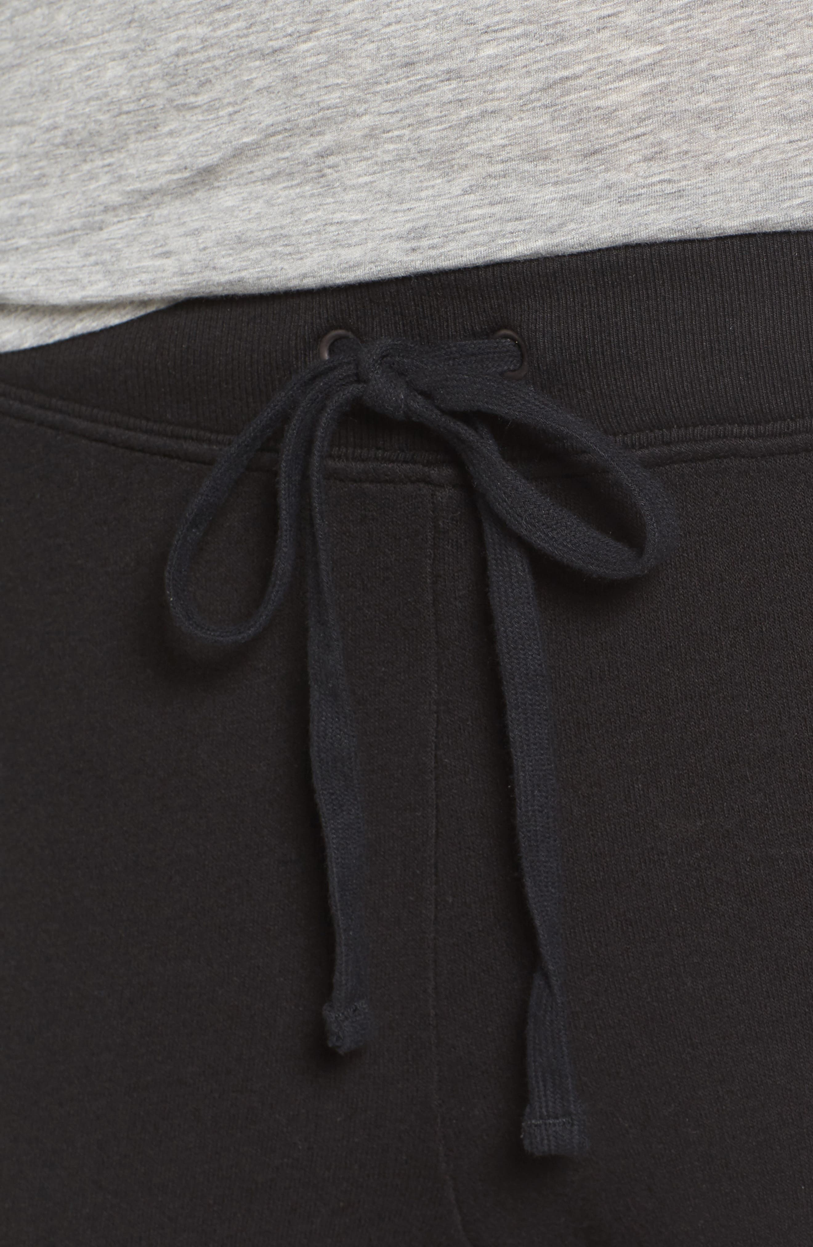 Betsee Distressed Jogger Pants,                             Alternate thumbnail 4, color,                             001