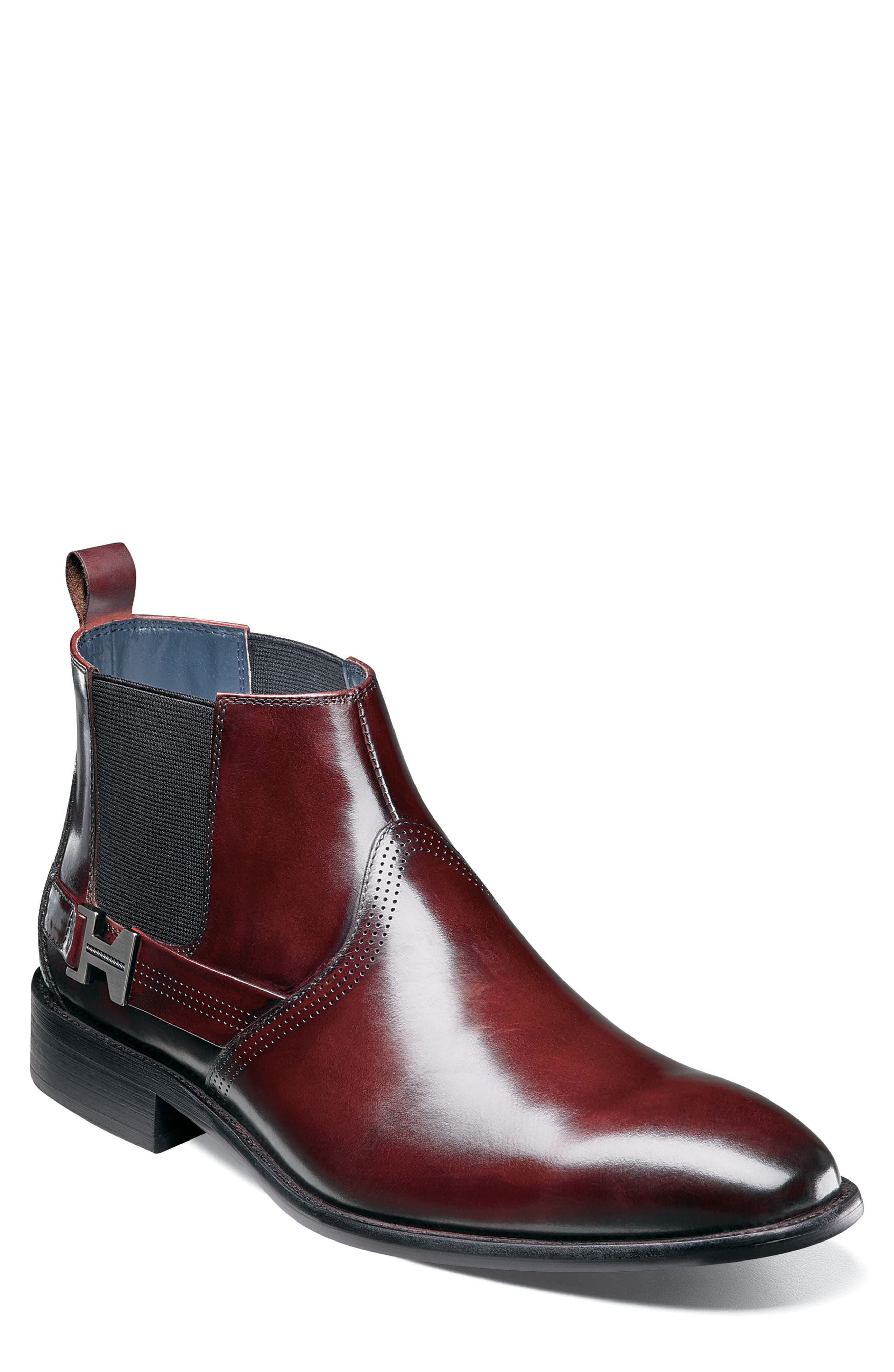 Stacy Adams Joffrey Chelsea Boot, Burgundy