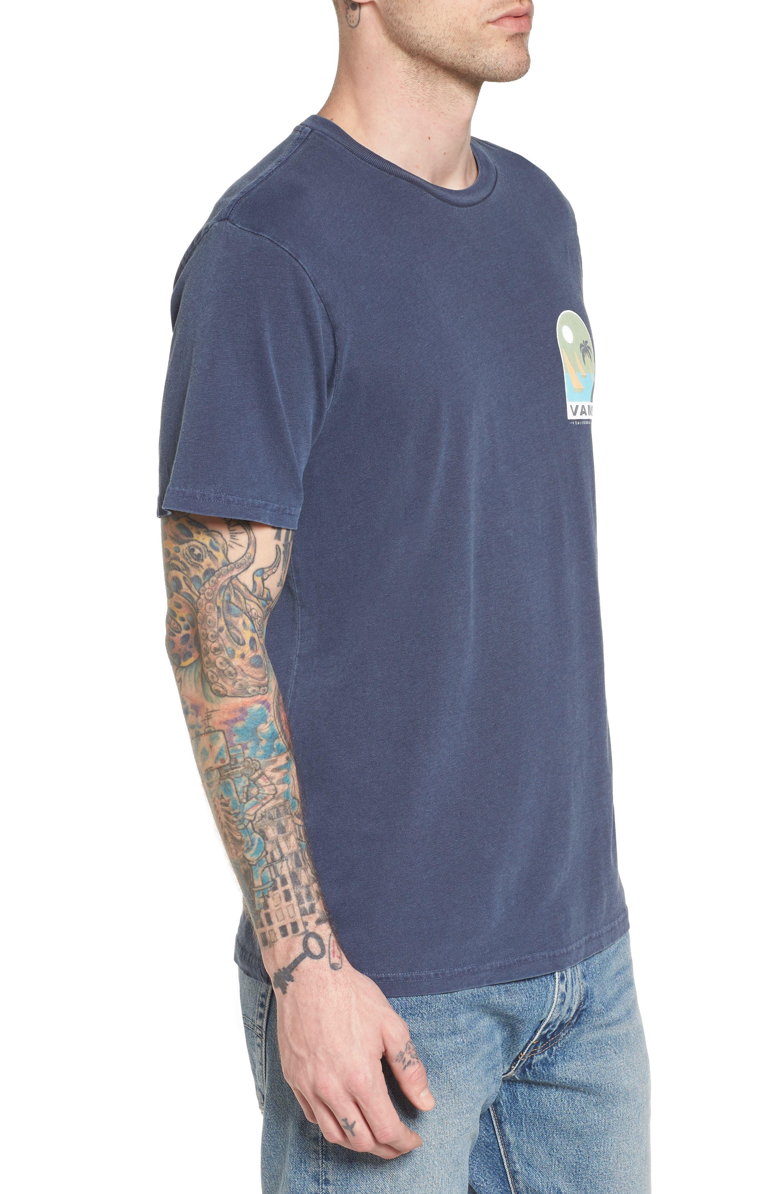 Open Sail Graphic T-Shirt,                             Alternate thumbnail 3, color,                             401