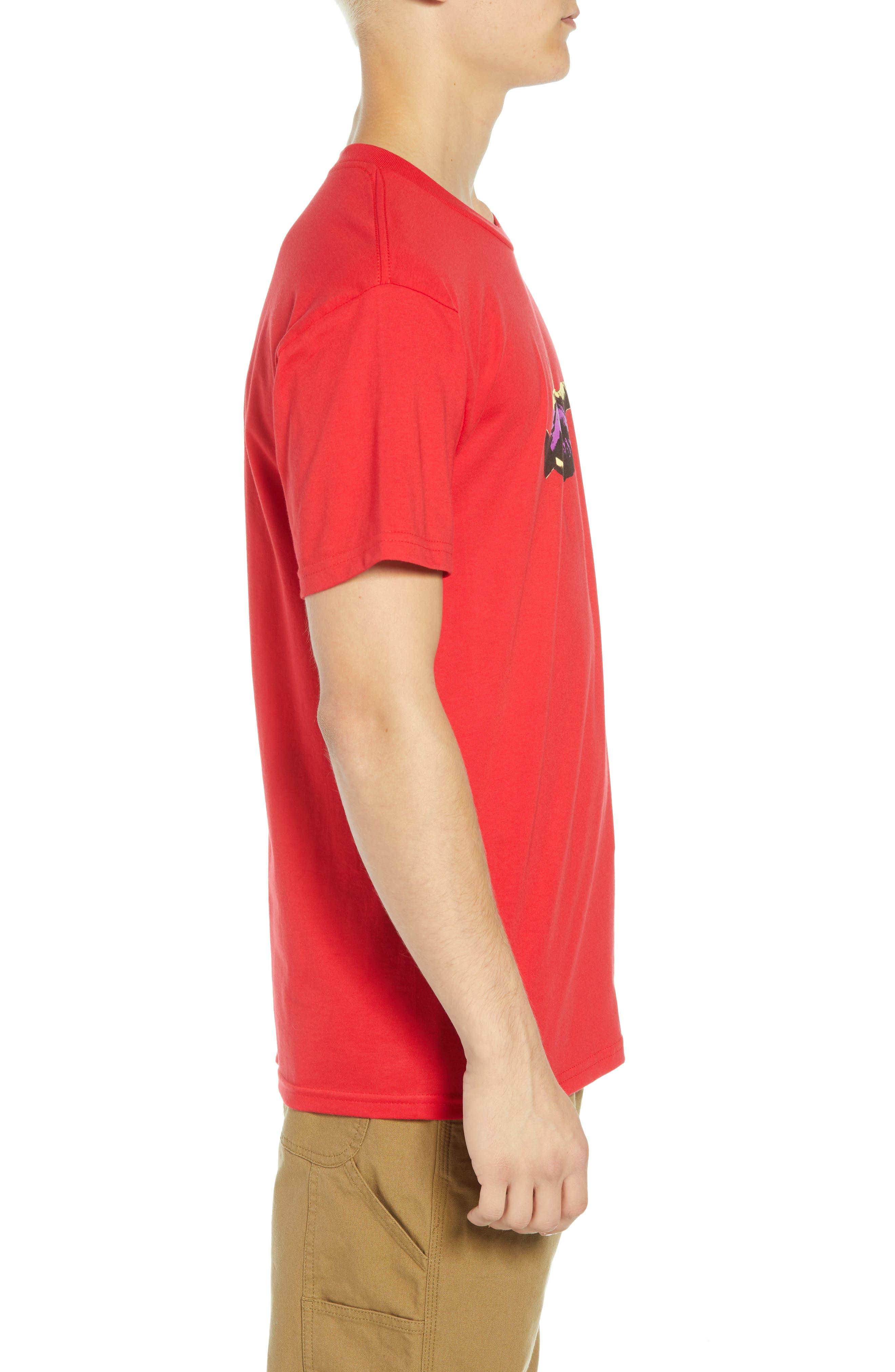 Cultural Rigor Mortis Premium T-Shirt,                             Alternate thumbnail 3, color,                             RED