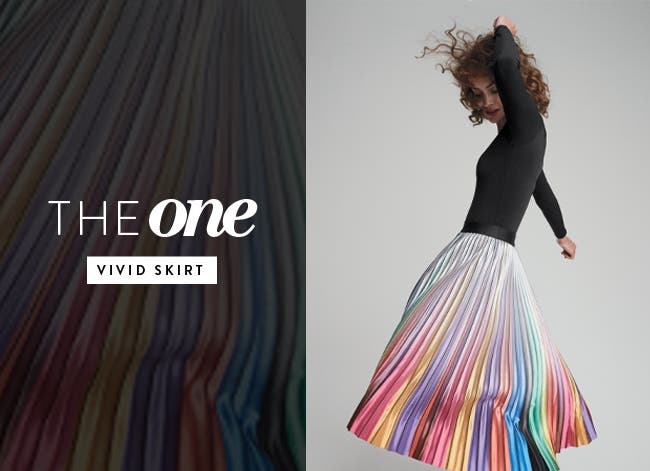 Women's the one: a vivid skirt.