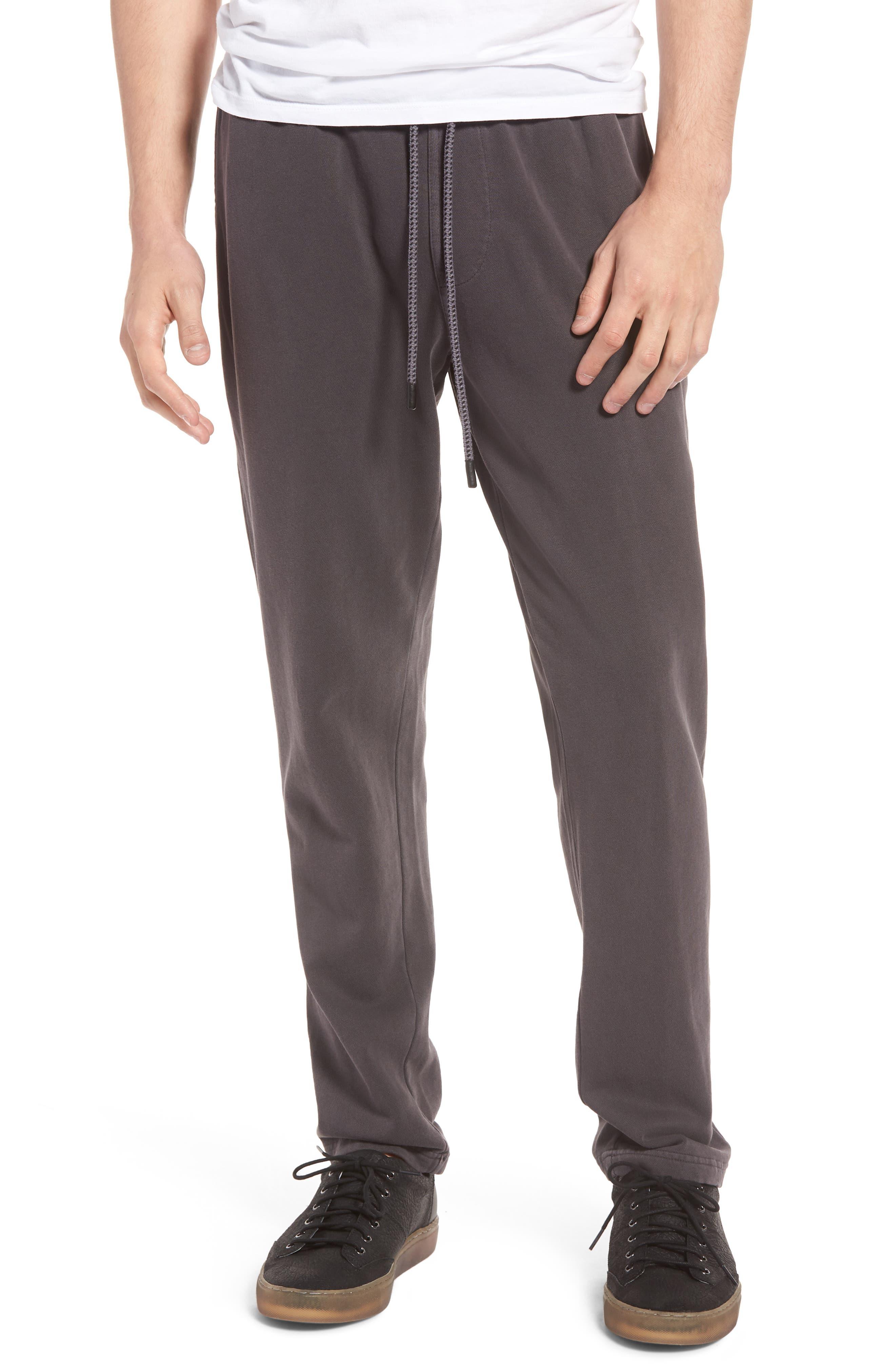 Oceans Fleece Pants,                         Main,                         color, DARK BLUE