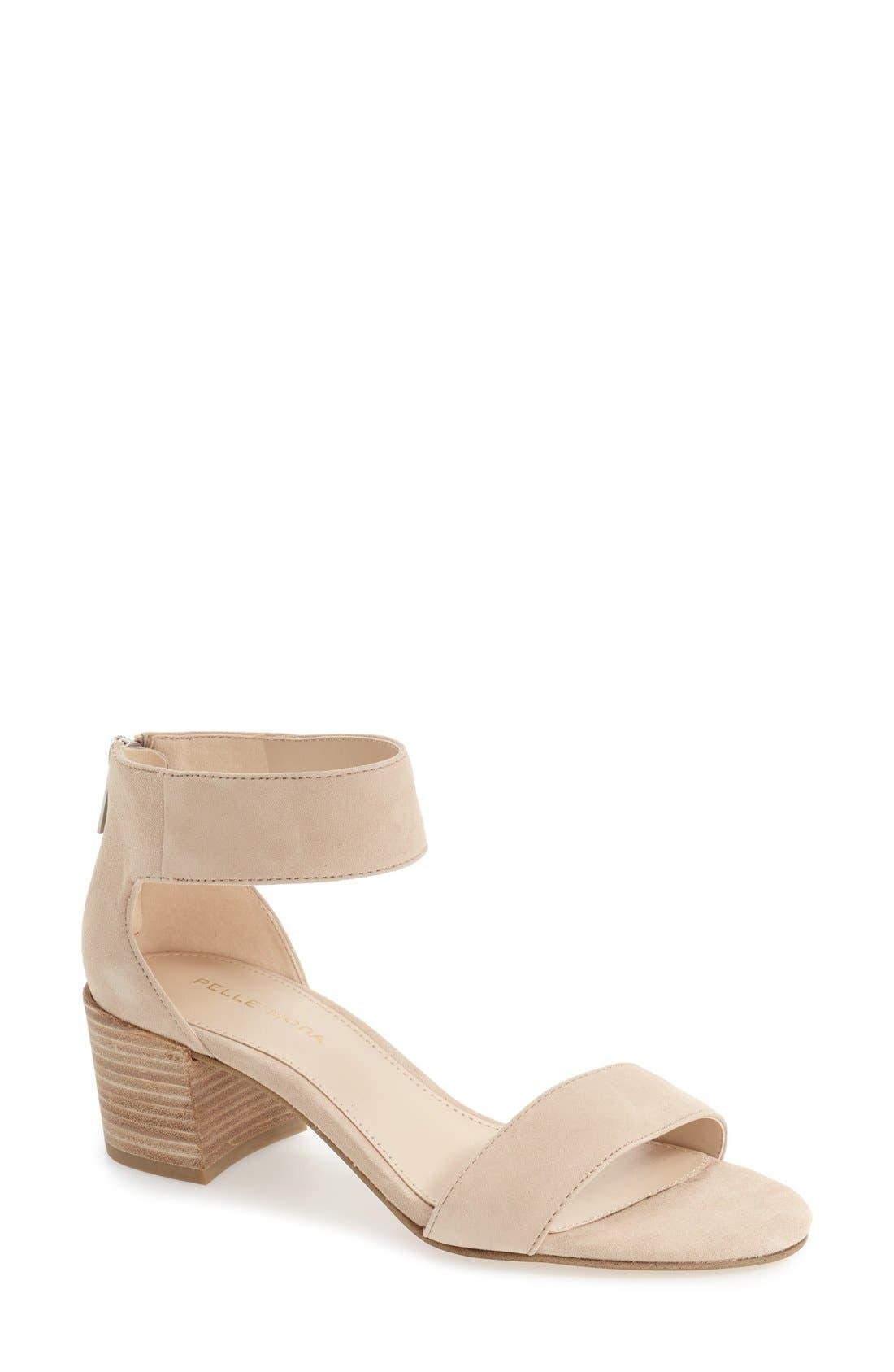 Pella Moda 'Urban' Block Heel Sandal,                             Main thumbnail 3, color,