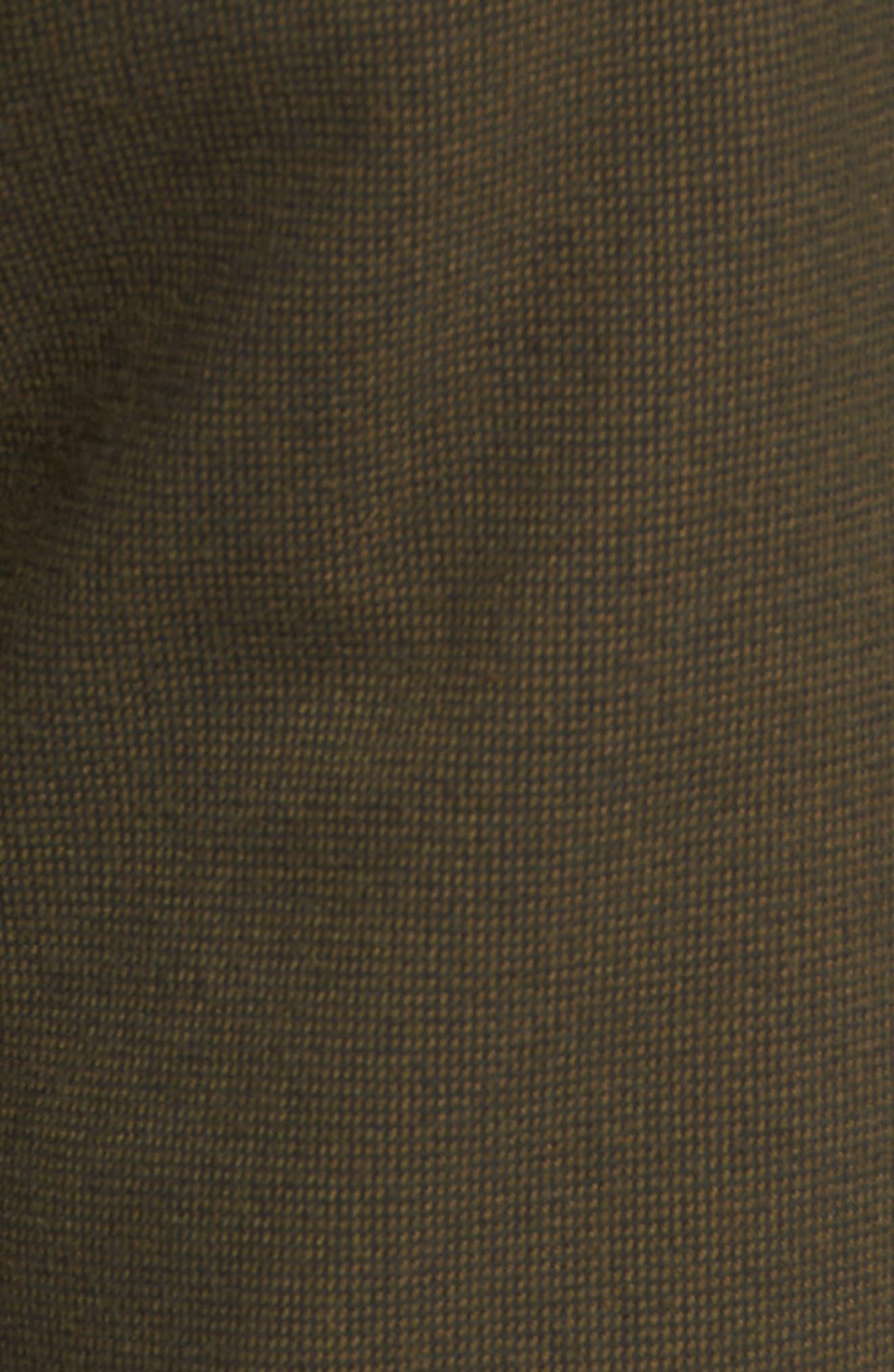 Gritter Thrifter Shorts,                             Alternate thumbnail 5, color,                             GREENTEA