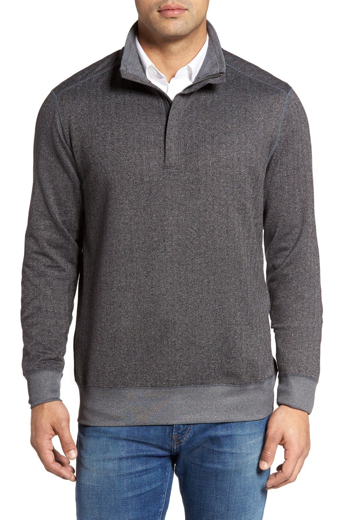 Pro Formance Quarter Zip Sweater,                             Main thumbnail 1, color,                             050