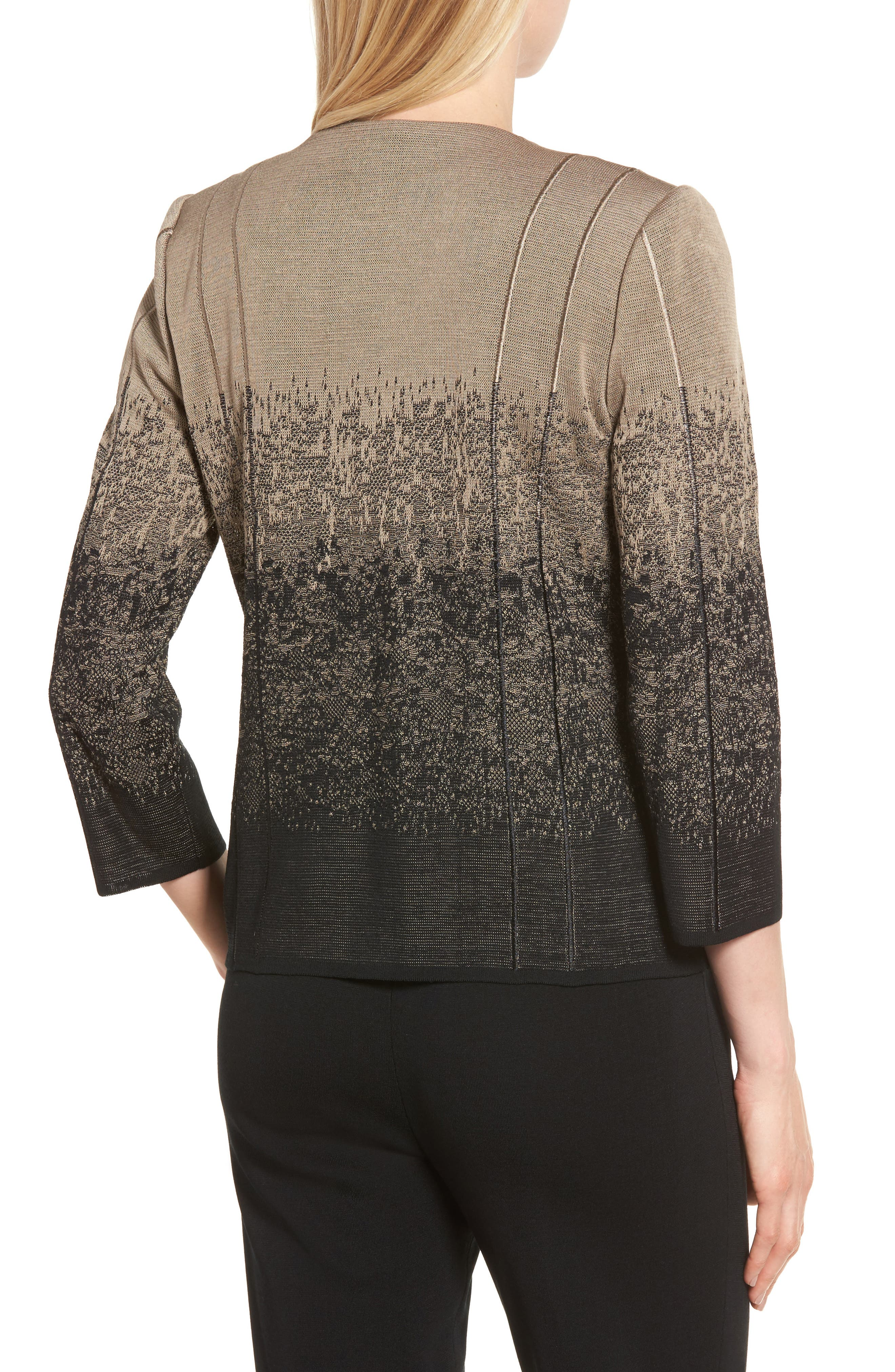 Jacquard Knit Jacket,                             Alternate thumbnail 2, color,                             250