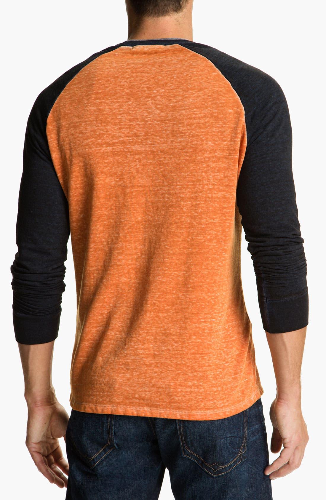 Washed Raglan Sleeve Sweatshirt,                             Alternate thumbnail 22, color,