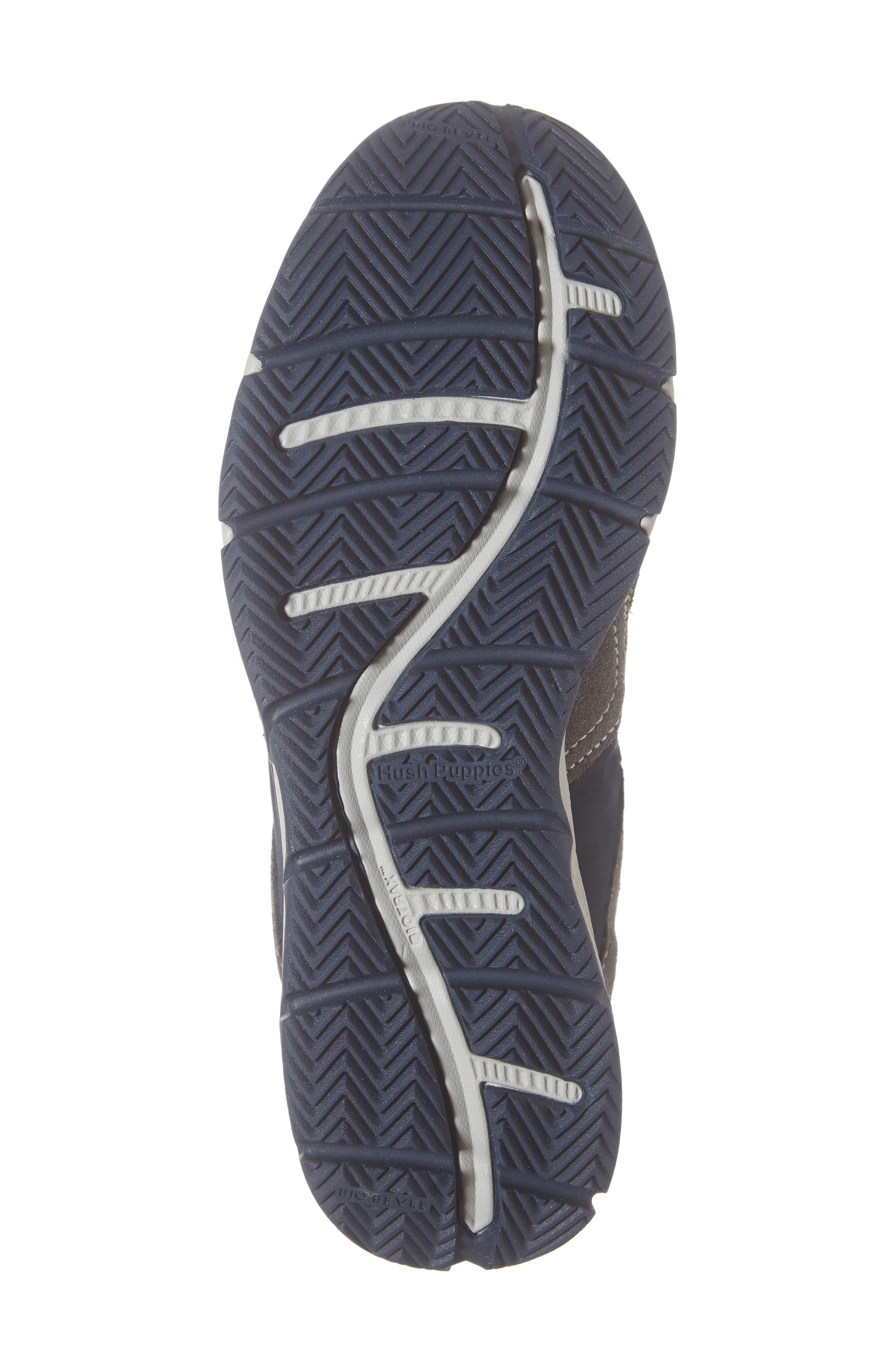 Zev TS Field Sneaker,                             Alternate thumbnail 6, color,                             GREY/ NAVY