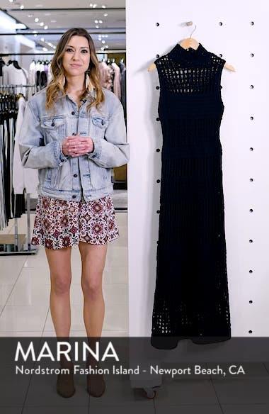 Mixed Knit Maxi Dress, sales video thumbnail