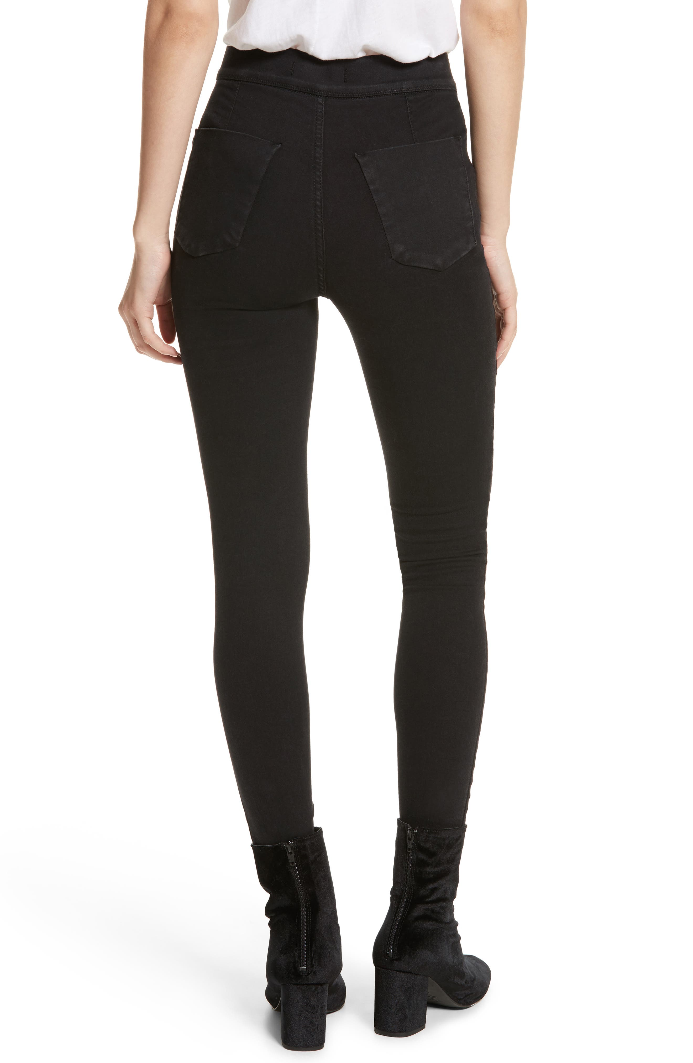 We the Free by Free People Easy Goes It Leggings,                             Alternate thumbnail 2, color,                             002