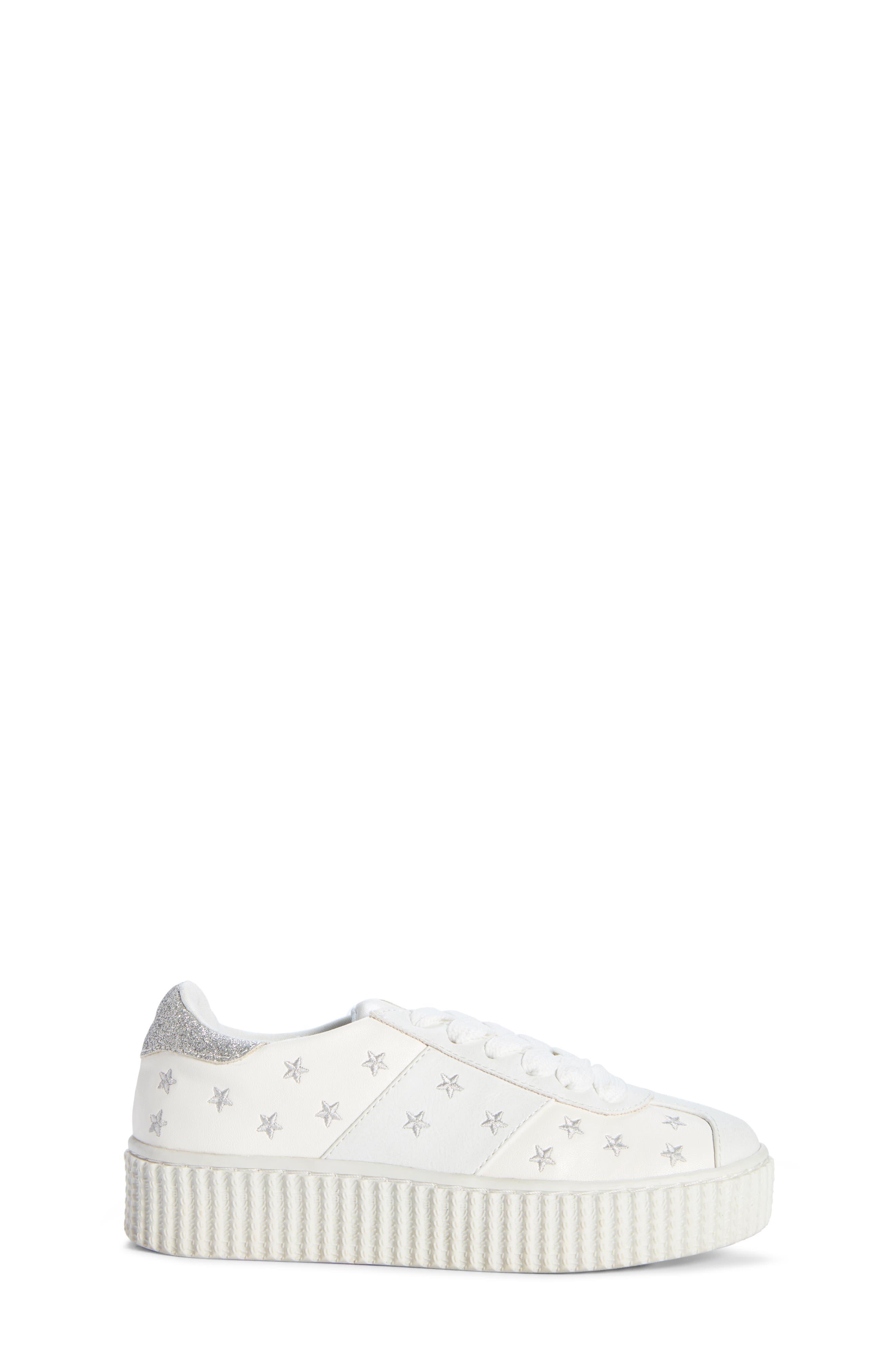 Cadin Star Creeper Sneaker,                             Alternate thumbnail 3, color,                             100