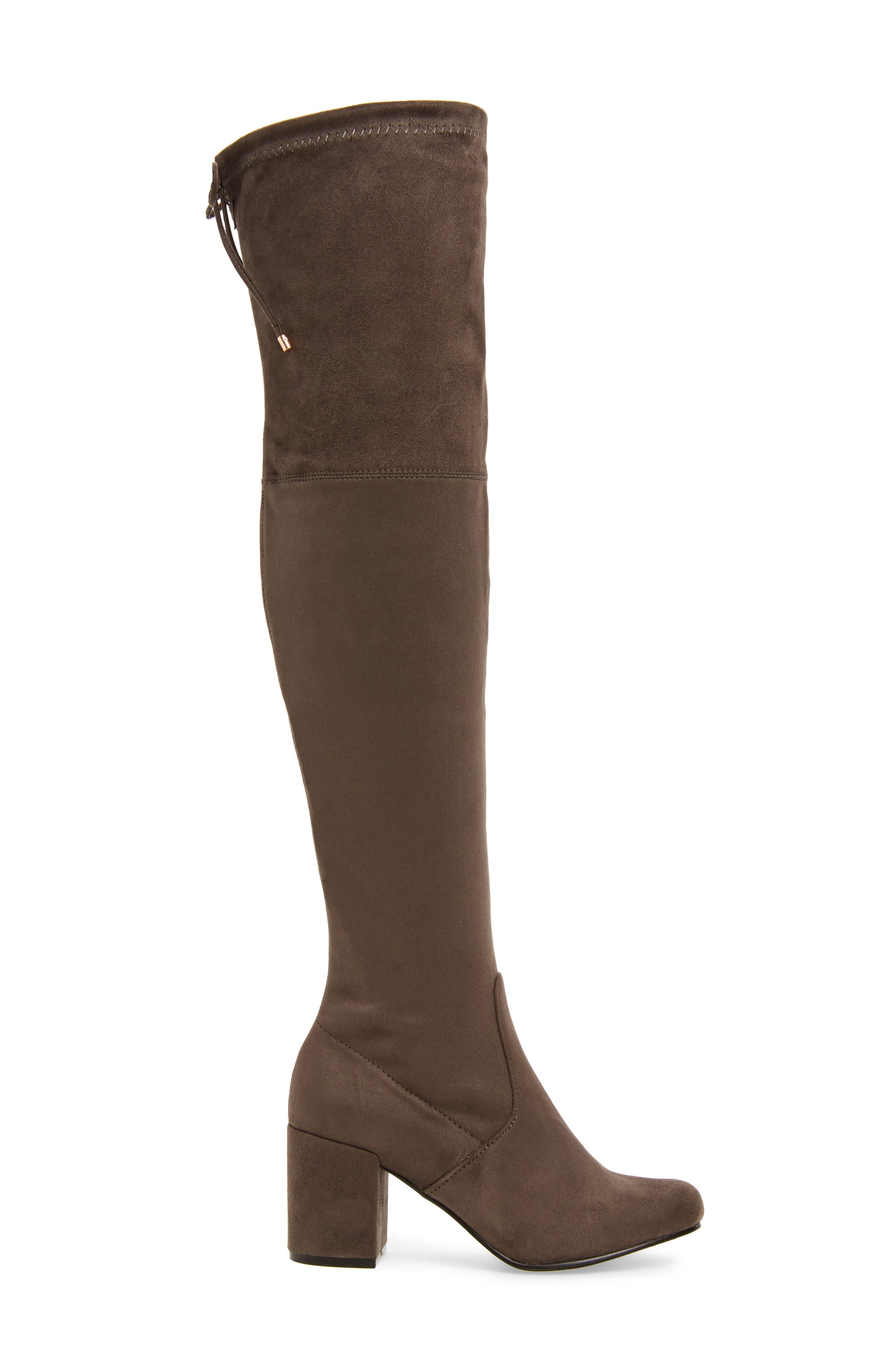 Heartbeat Over the Knee Boot,                             Alternate thumbnail 6, color,