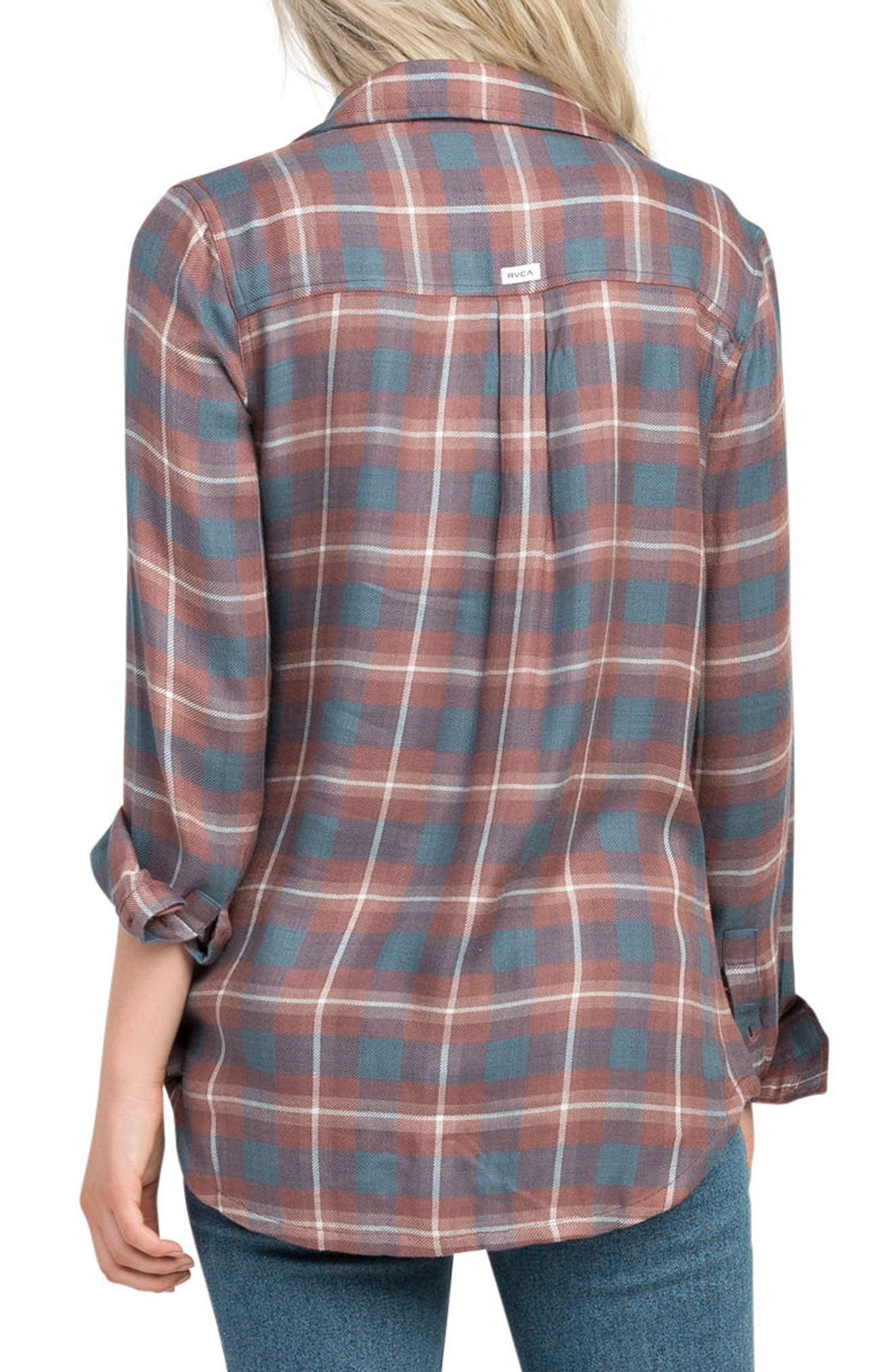 York Plaid Shirt,                             Alternate thumbnail 2, color,                             500