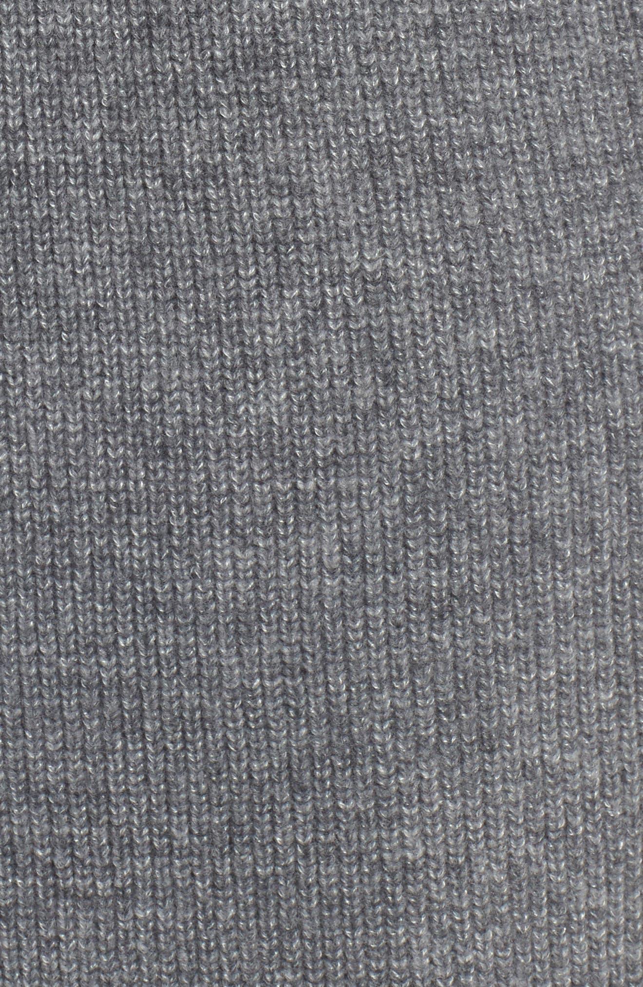 Long Ribbed Cardigan,                             Alternate thumbnail 15, color,