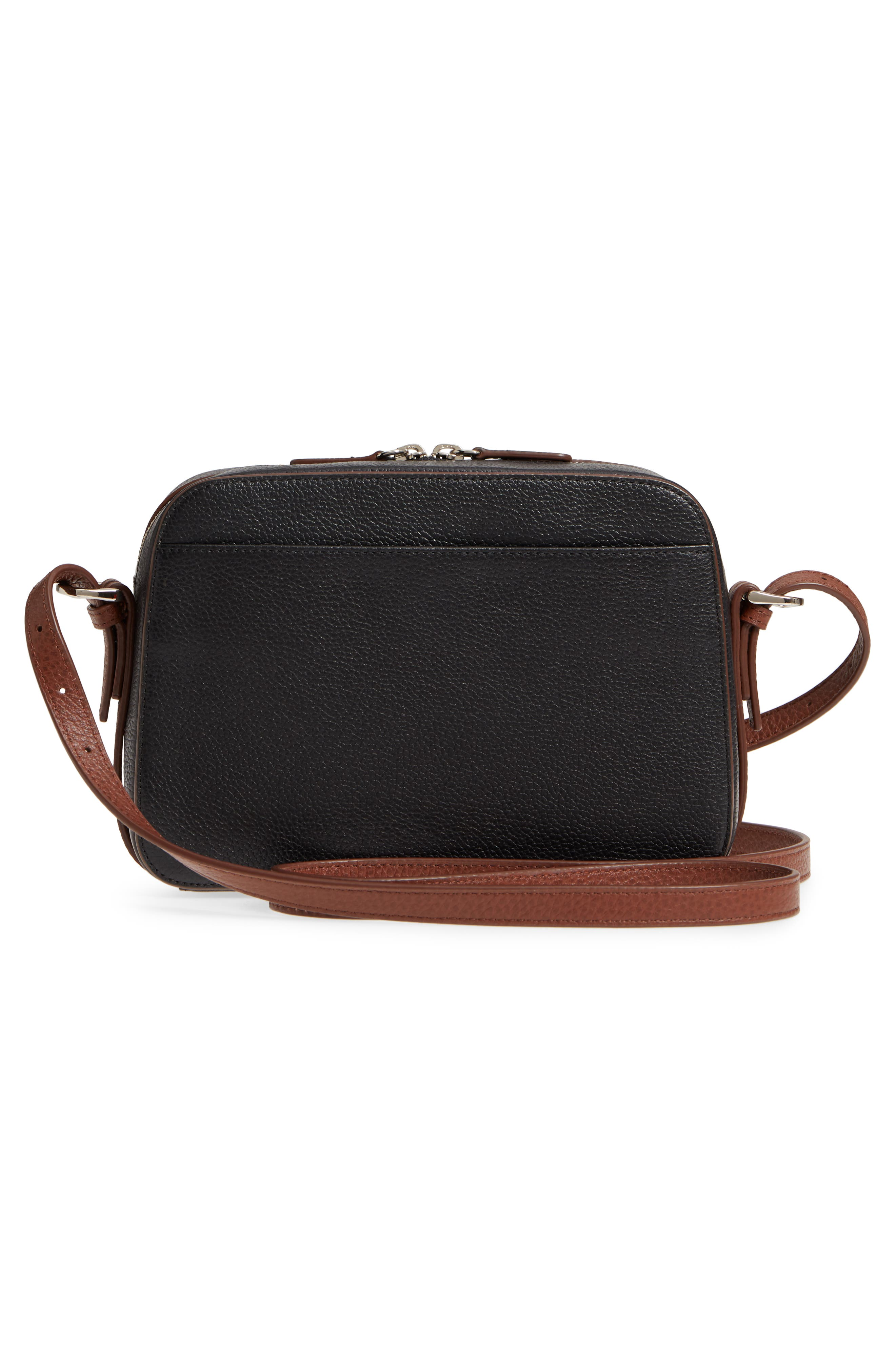 Brayden Leather Crossbody Camera Bag,                             Alternate thumbnail 12, color,
