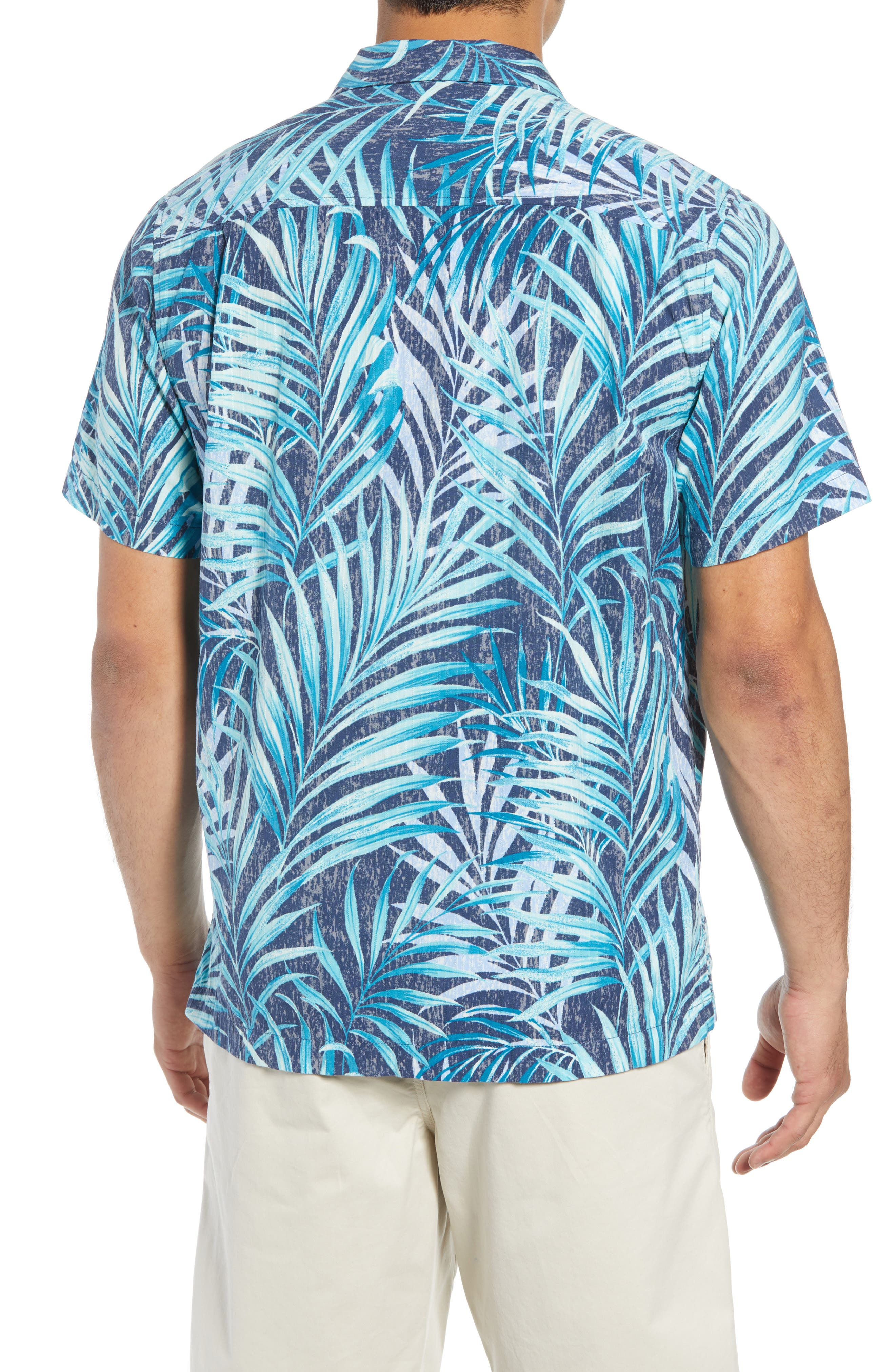 Teatro Palms Sport Shirt,                             Alternate thumbnail 2, color,                             SHIPWRECK
