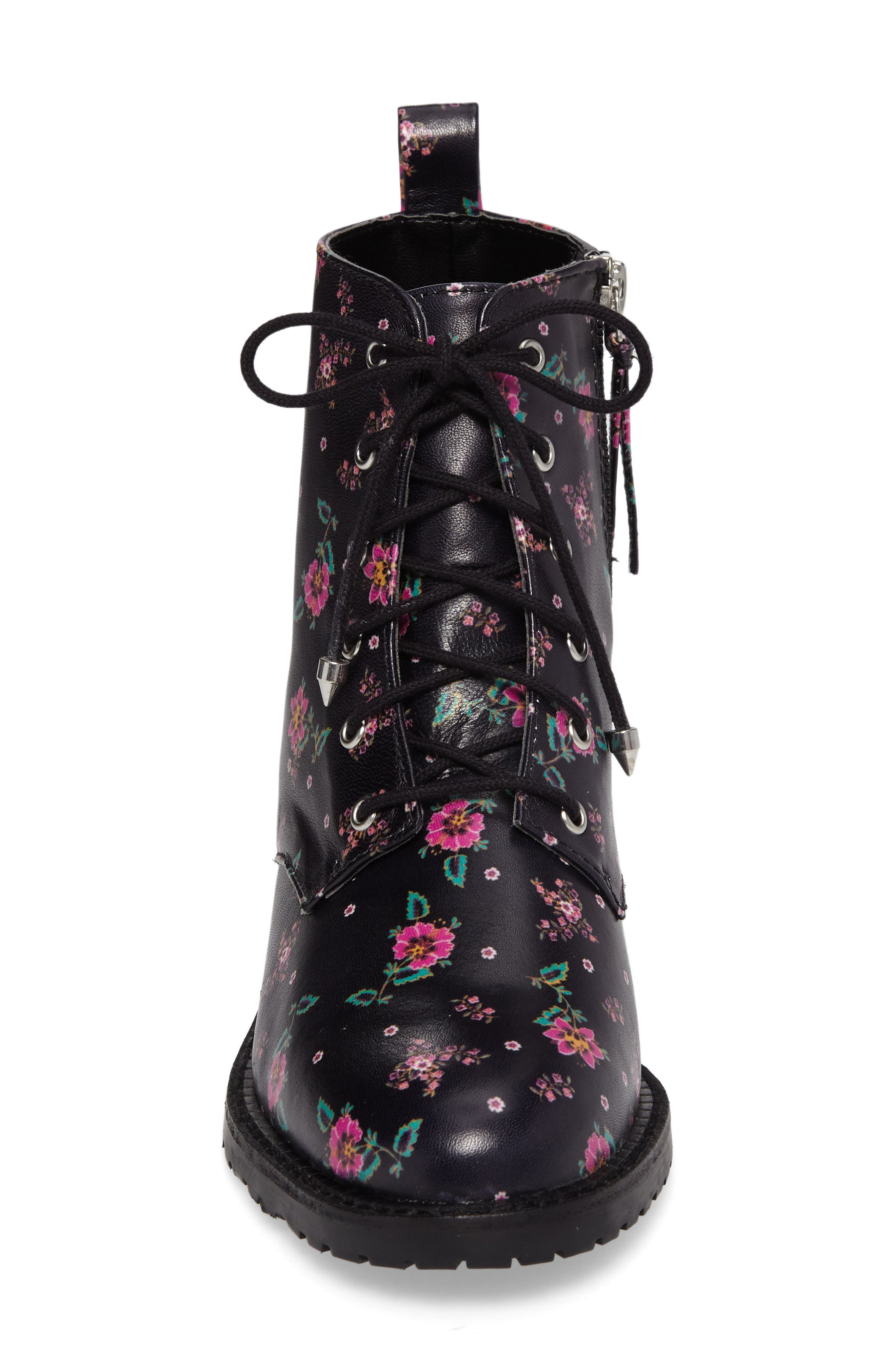 Gerry Lace-Up Boot,                             Alternate thumbnail 4, color,                             001