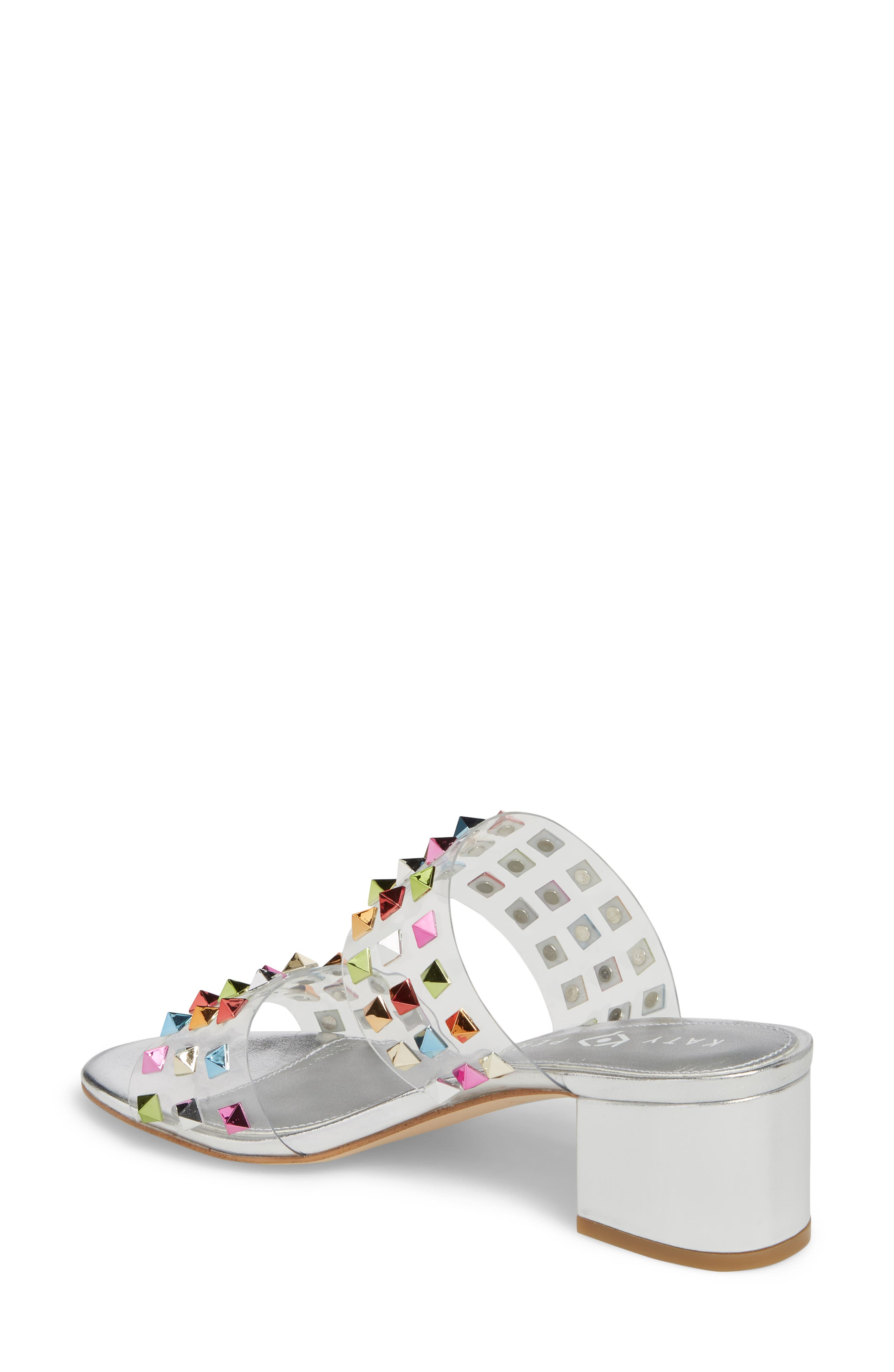 The Kenzie Studded Sandal,                             Alternate thumbnail 2, color,                             RAINBOW MULTI