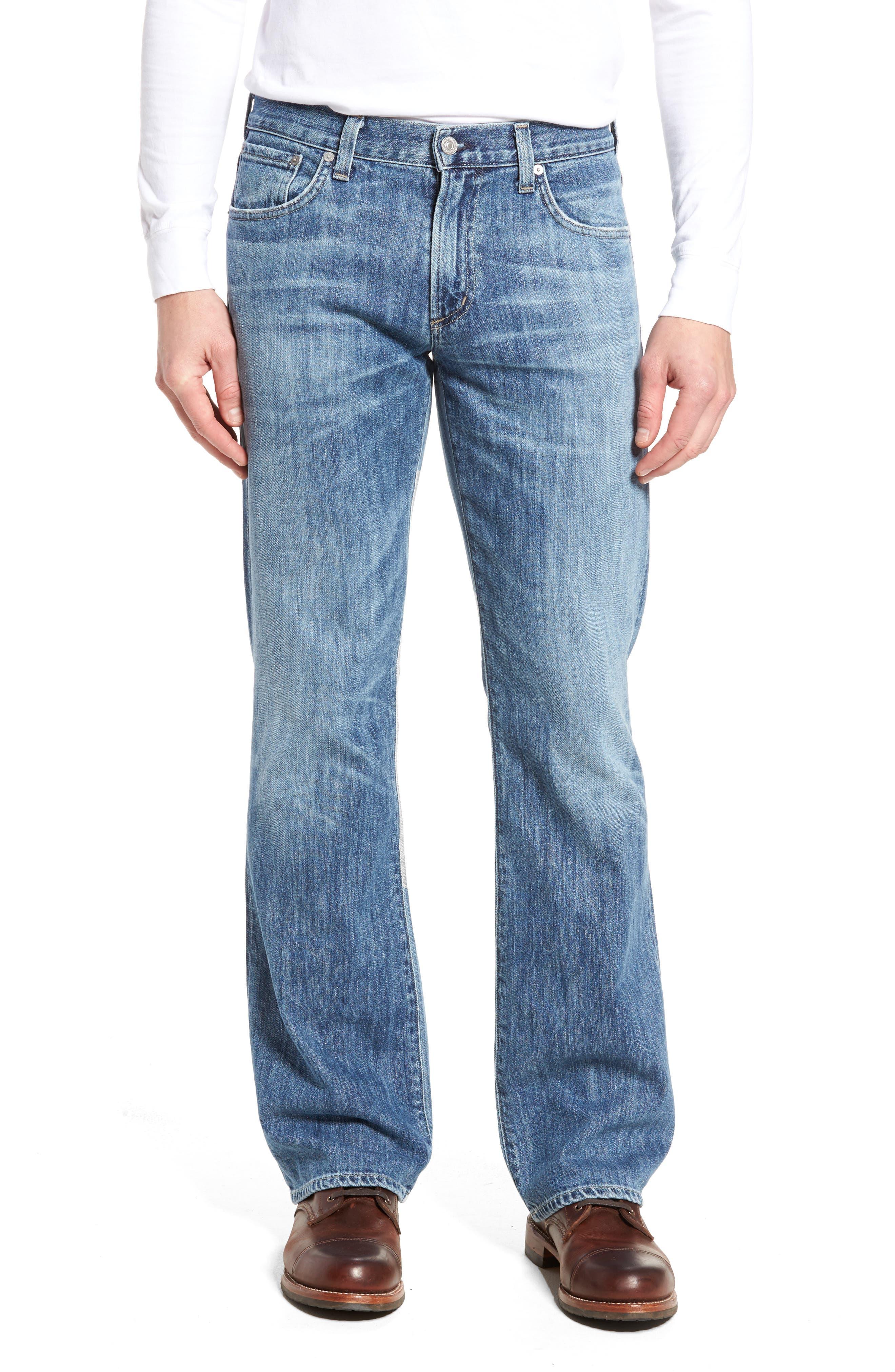 Bootcut Jeans,                             Main thumbnail 1, color,