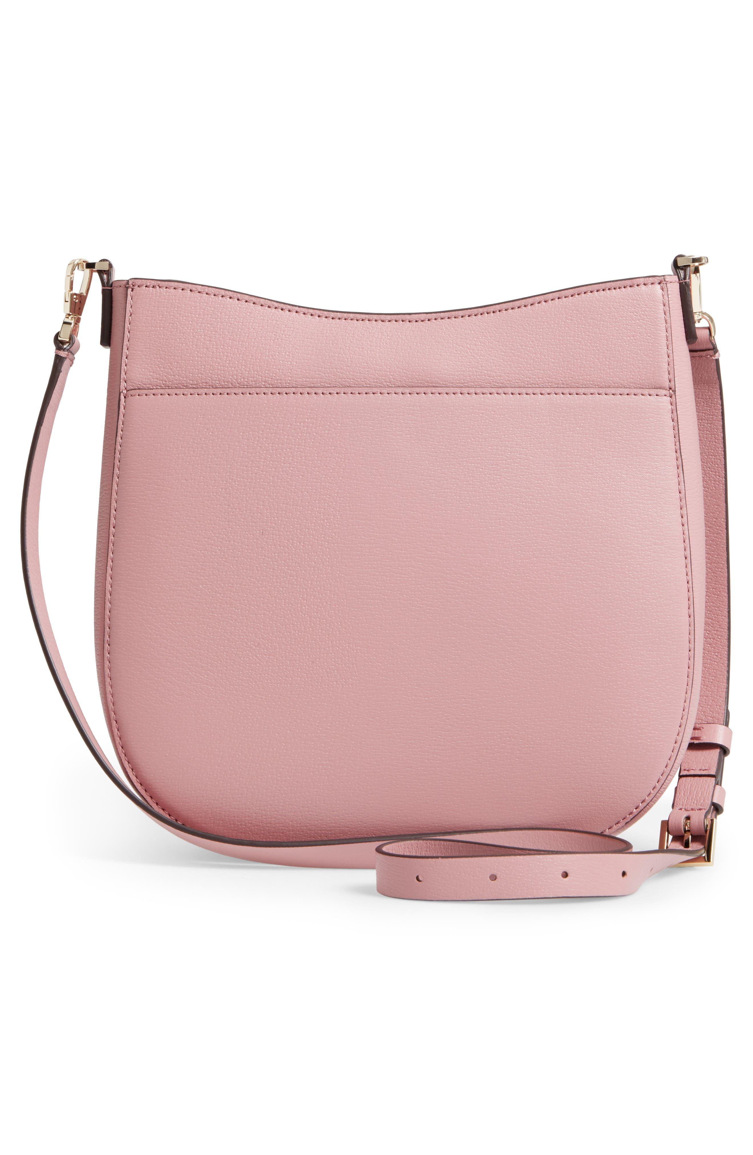 olive drive - robin leather crossbody bag,                             Alternate thumbnail 6, color,