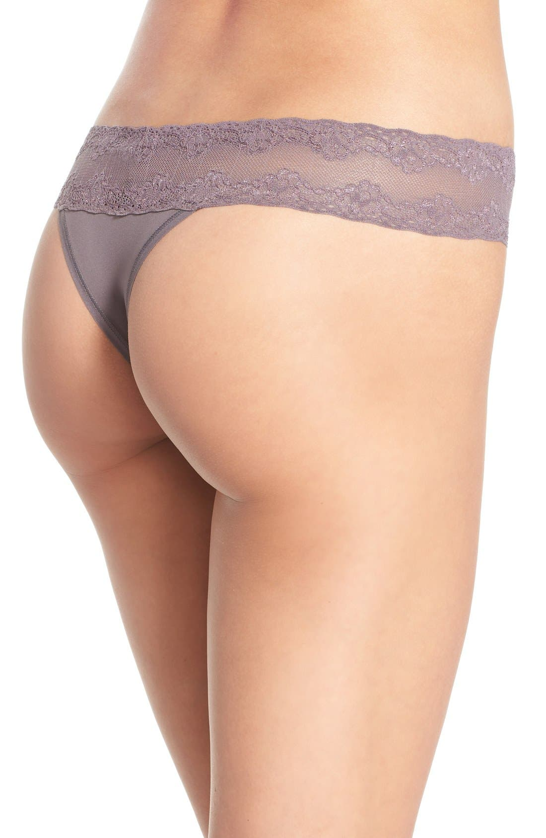 Bliss Perfection Thong,                             Alternate thumbnail 596, color,