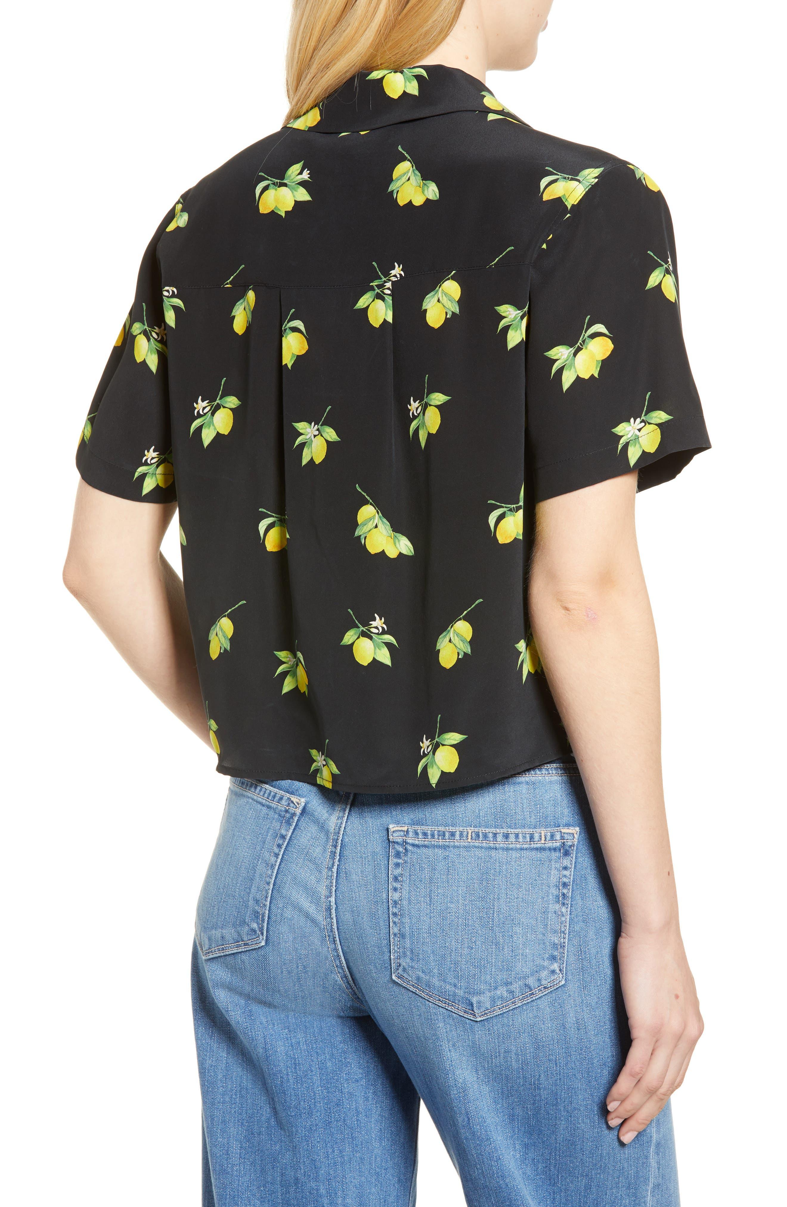 Maui Silk Shirt,                             Alternate thumbnail 2, color,                             001