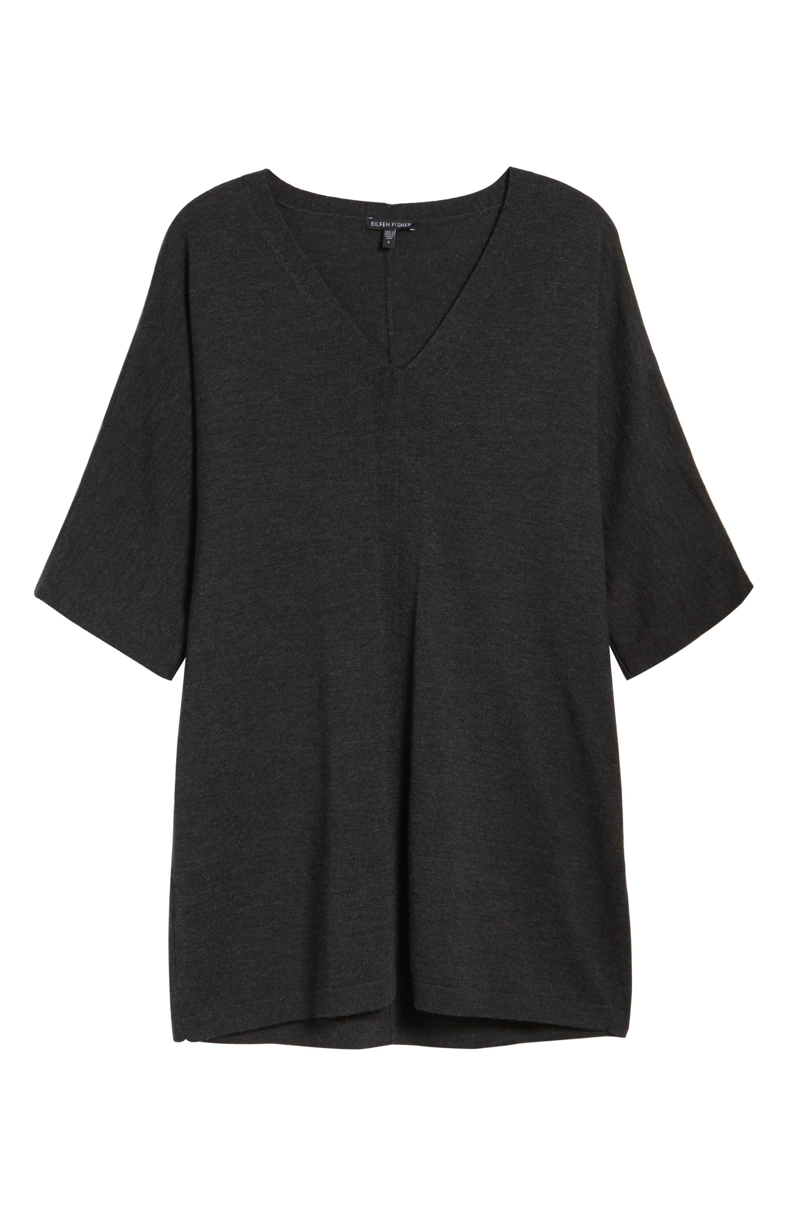 Merino Wool Tunic Sweater,                             Alternate thumbnail 36, color,