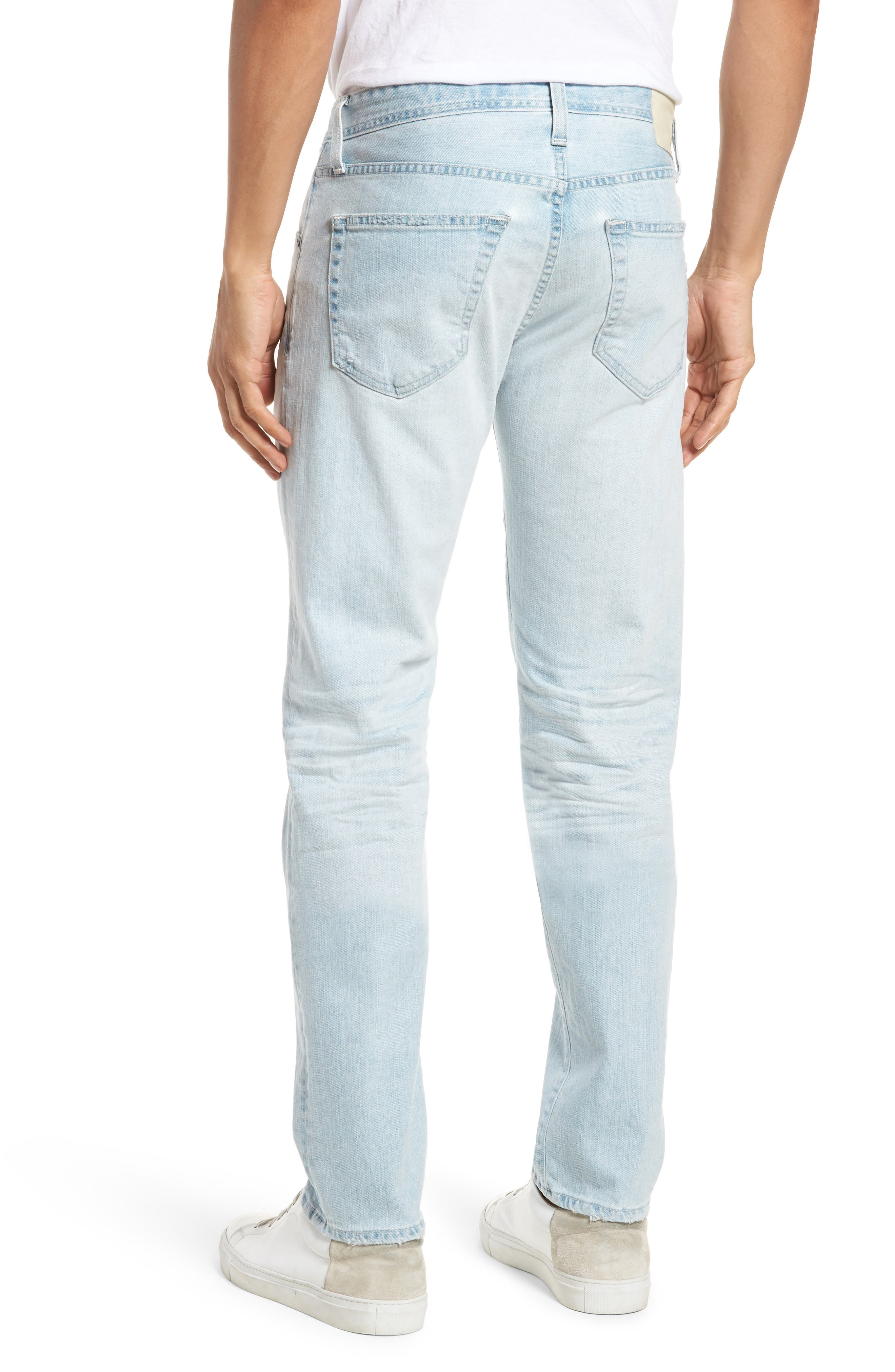 Tellis Slim Fit Jeans,                             Alternate thumbnail 2, color,                             400