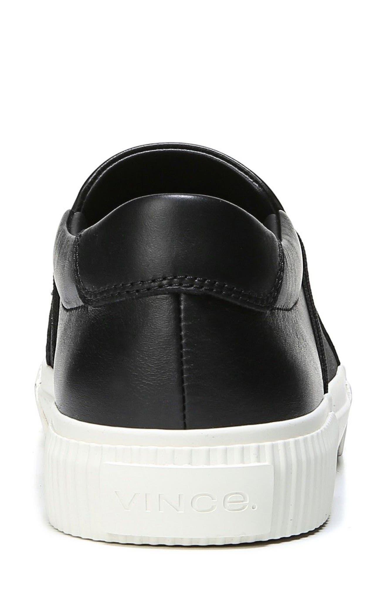 Knox Slip-On Sneaker,                             Alternate thumbnail 8, color,                             001