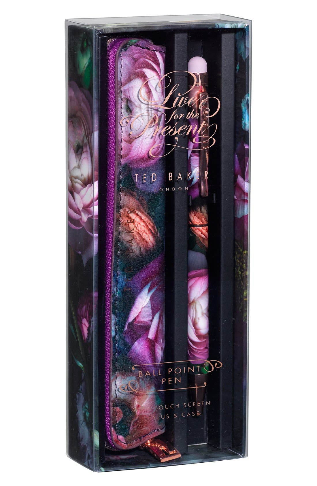 Wild and Wolf x Ted Baker London Touchscreen Stylus & Stylus Case, Main, color, 500