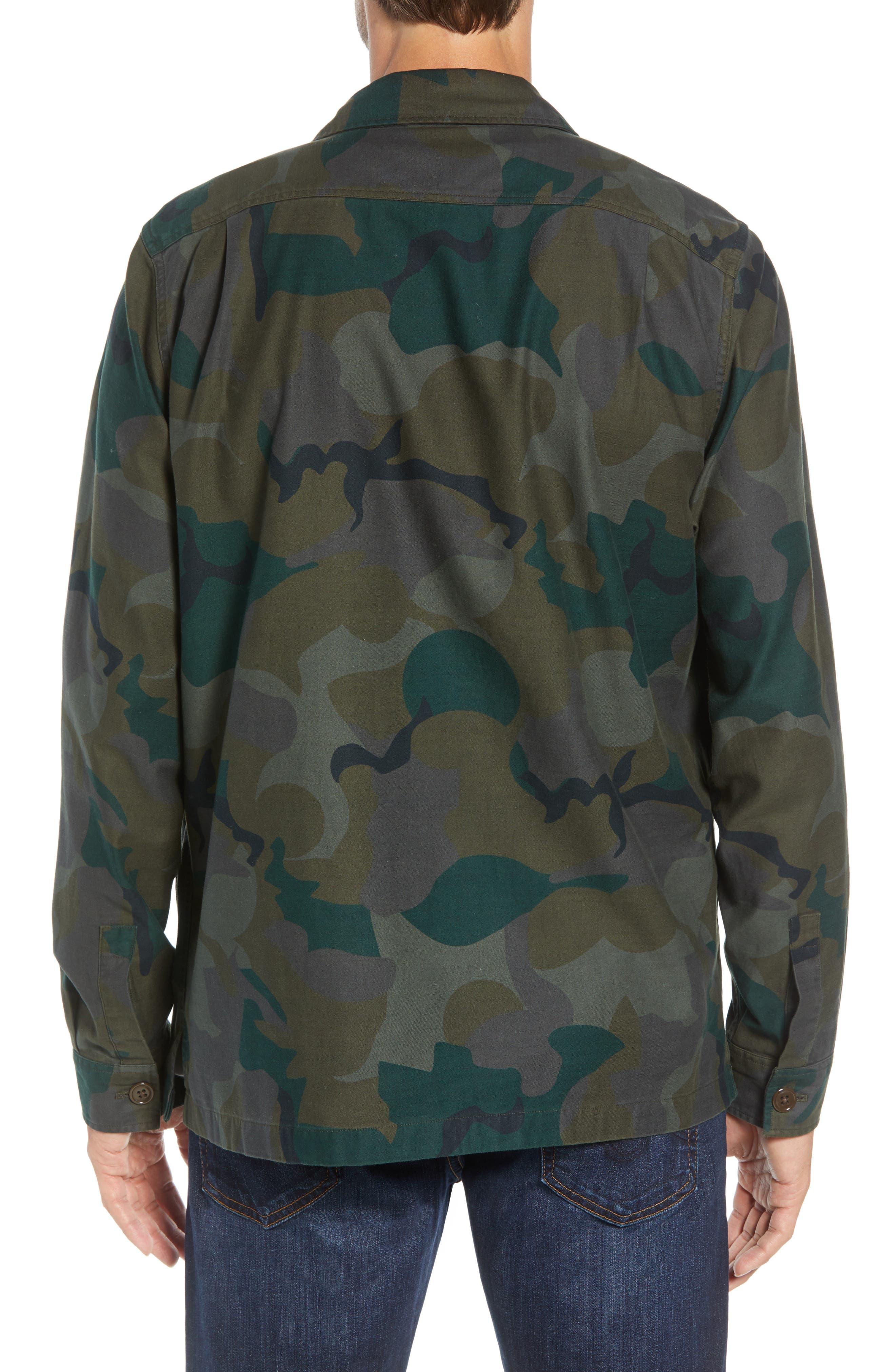 Four-Pocket Military Jacket,                             Alternate thumbnail 2, color,                             301
