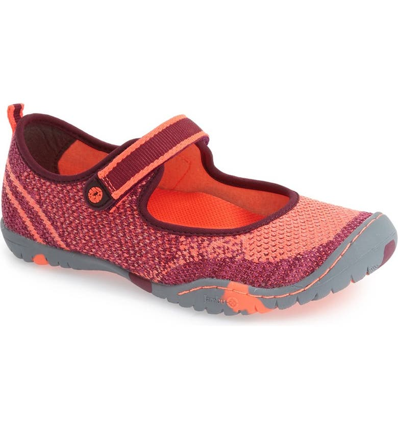 bbe62417ddd345 Jambu  Sora 2  Water Repellent Knitted Mary Jane Flat (Toddler ...