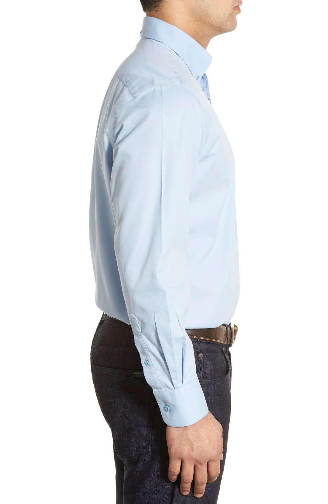 Smartcare<sup>™</sup> Traditional Fit Twill Boat Shirt,                             Alternate thumbnail 98, color,