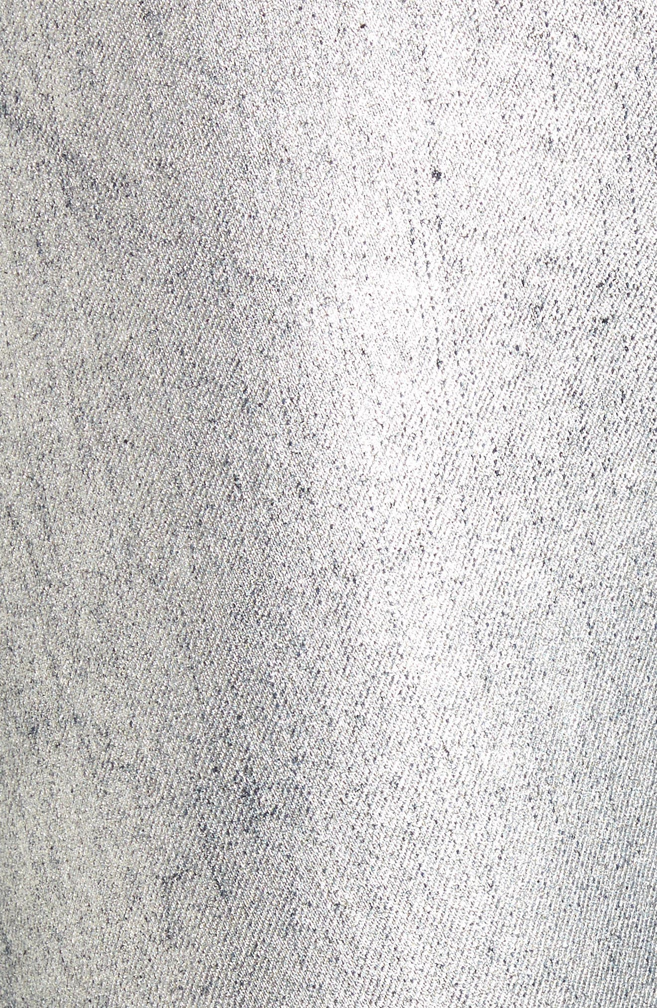 Kidds Metallic Drop Crotch Skinny Jeans,                             Alternate thumbnail 5, color,                             040