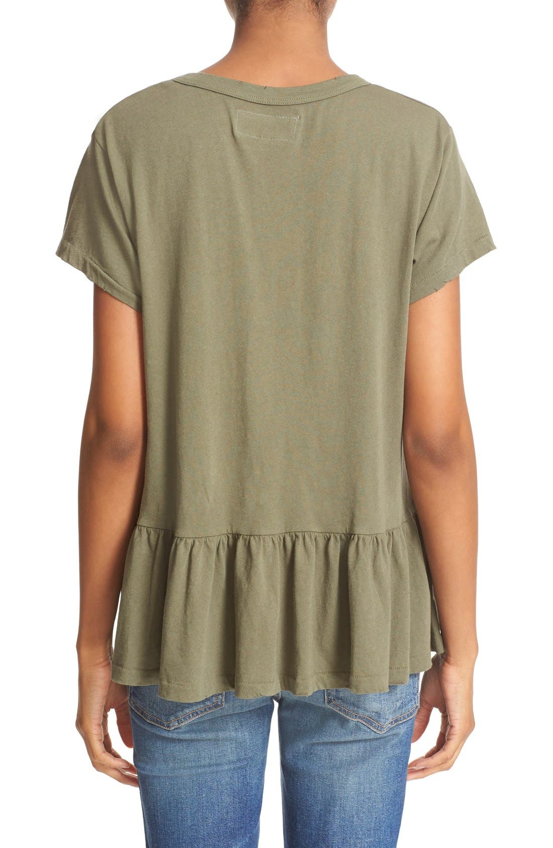 The Ruffle Tee,                             Alternate thumbnail 42, color,