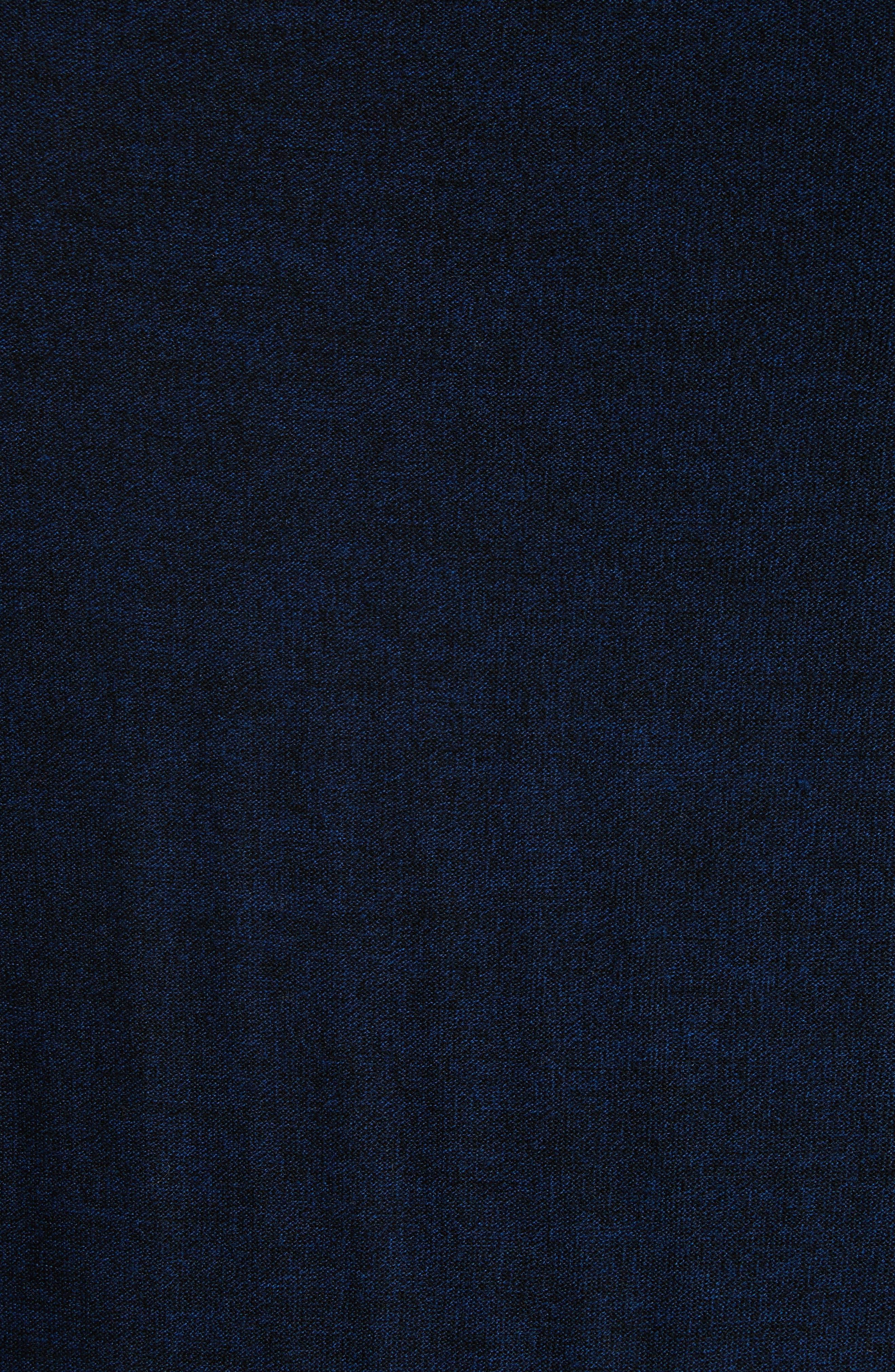 Side Stripe Merino Wool Sweater,                             Alternate thumbnail 5, color,                             410