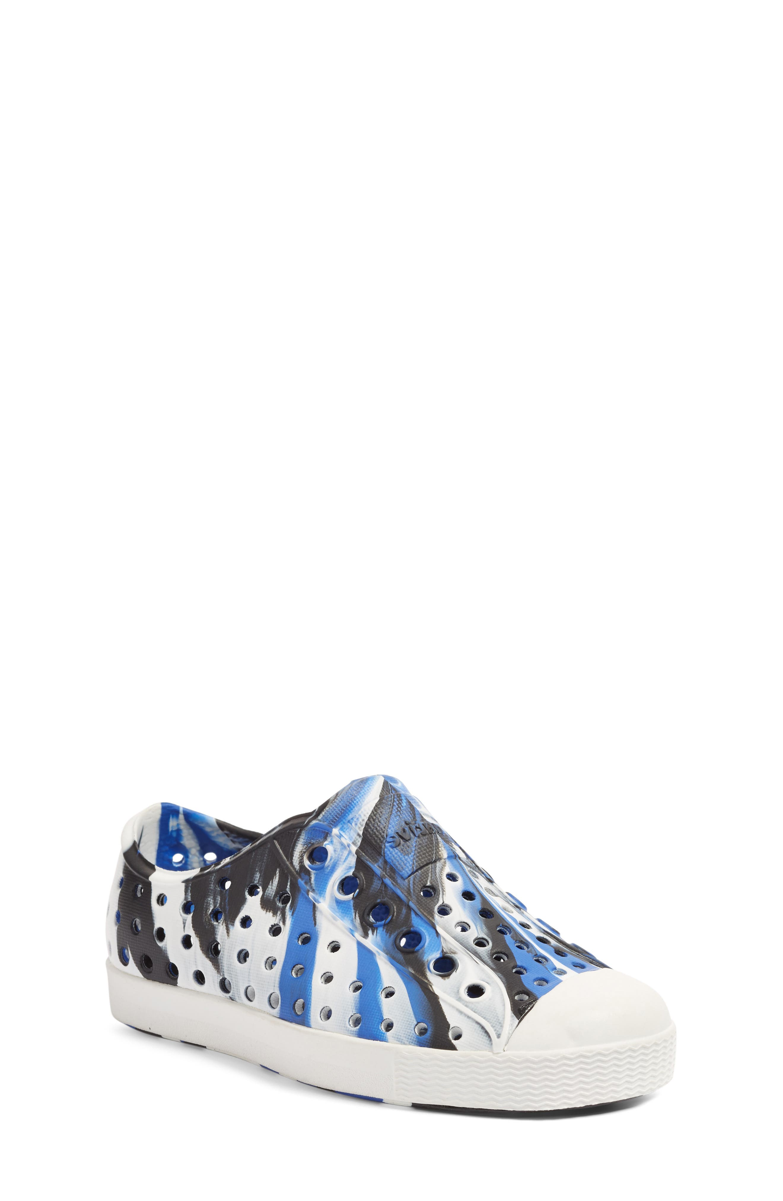 Jefferson - Marbled Perforated Slip-On,                             Main thumbnail 10, color,